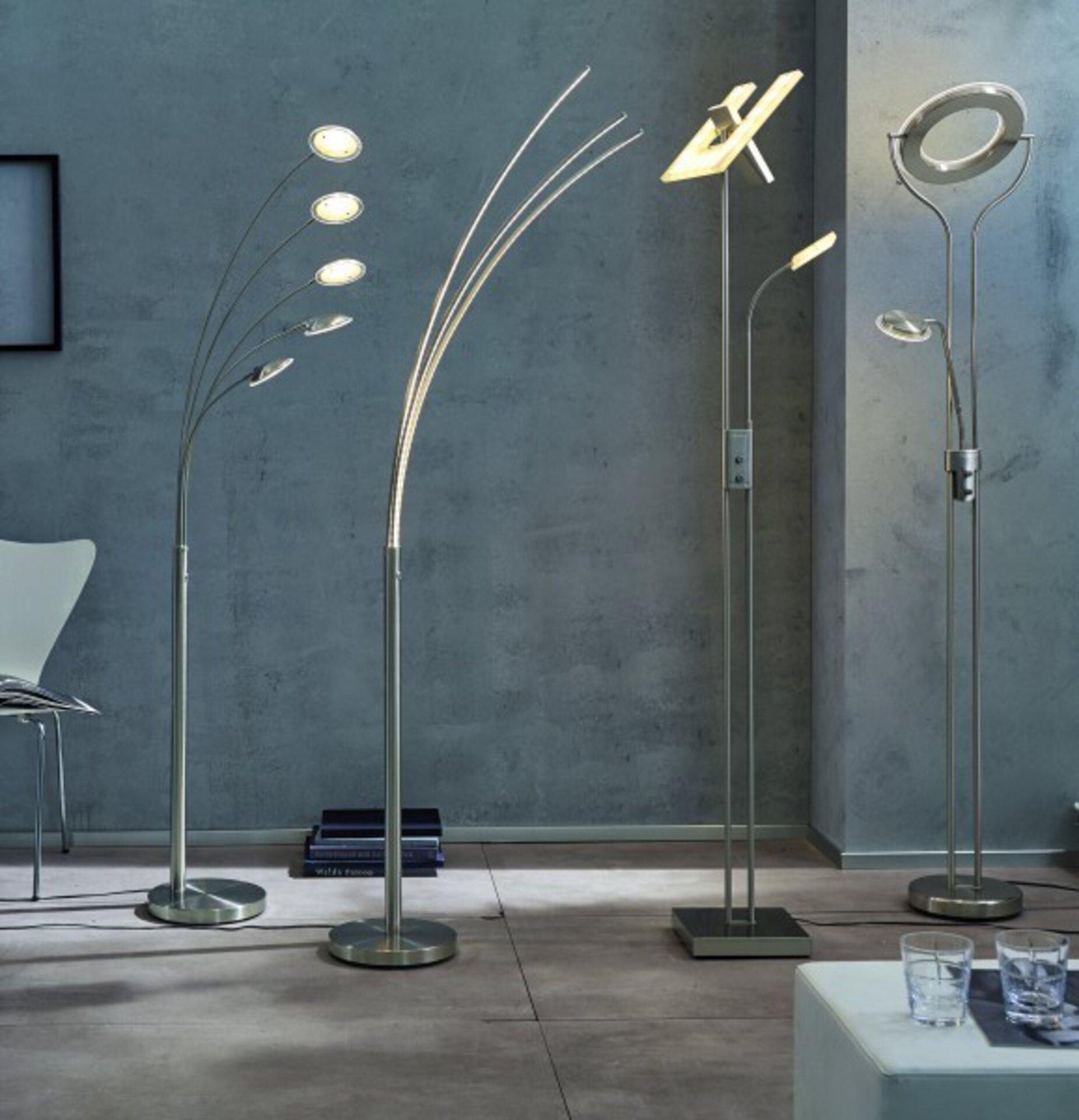 Stehleuchte Tristar Casa Nova Metall 28 x 190 x 28 cm