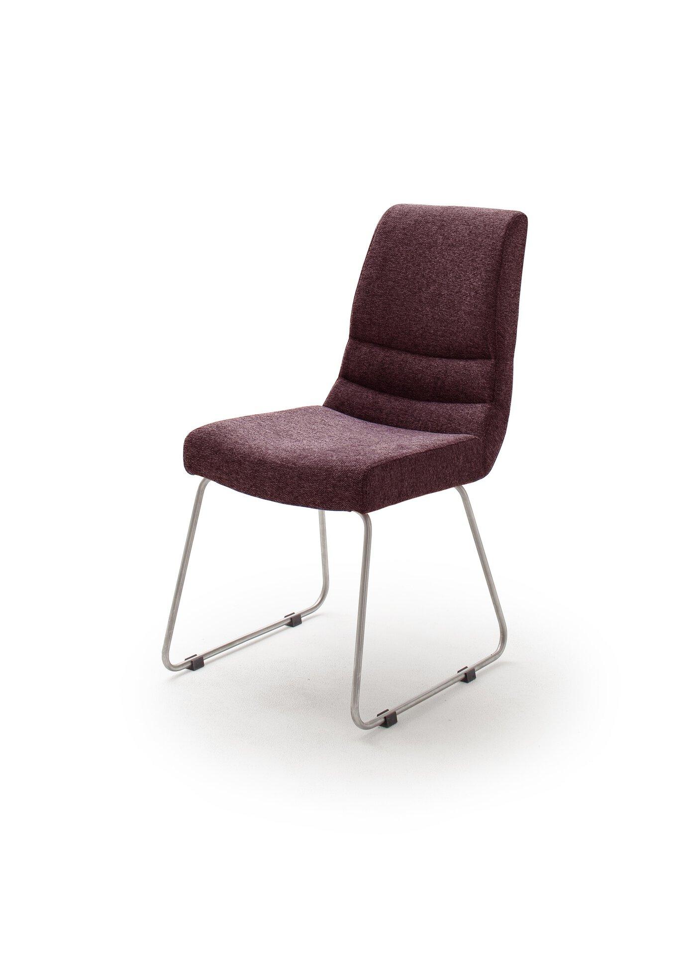 Kufenstuhl MONTERA MCA furniture Textil mehrfarbig 43 x 48 x 45 cm