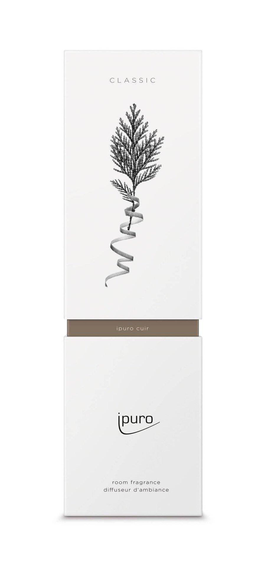 Raumduft cuir ipuro Kunststoff transparent