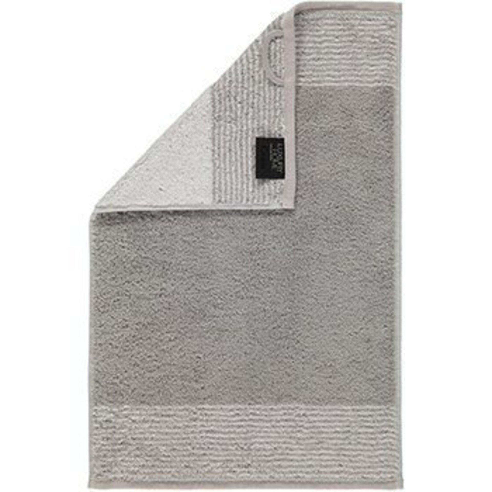 Gästetuch Cawö Textil grau 30 x 50 cm