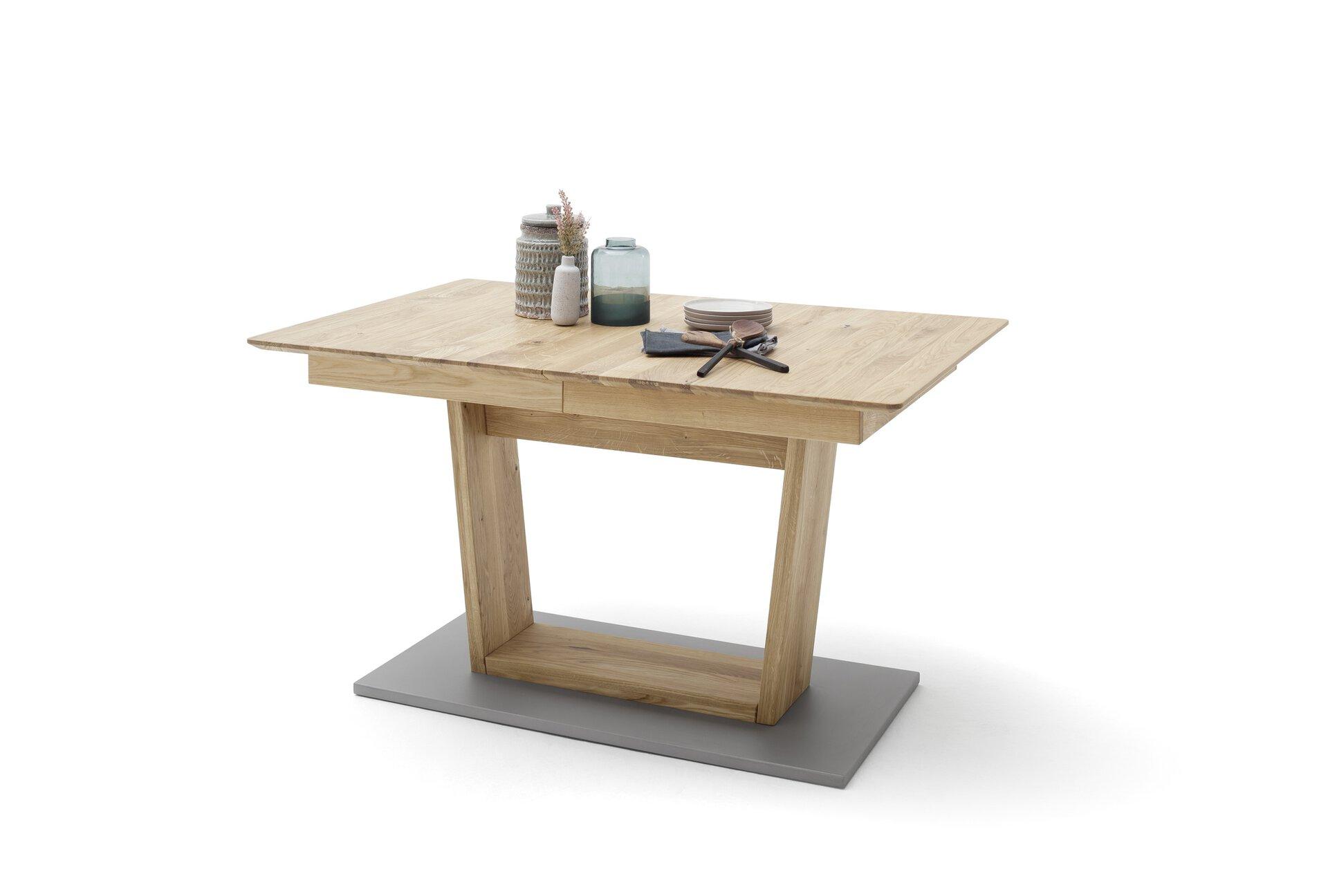 Esstisch CUBA MCA furniture Holzwerkstoff braun 90 x 77 x 140 cm