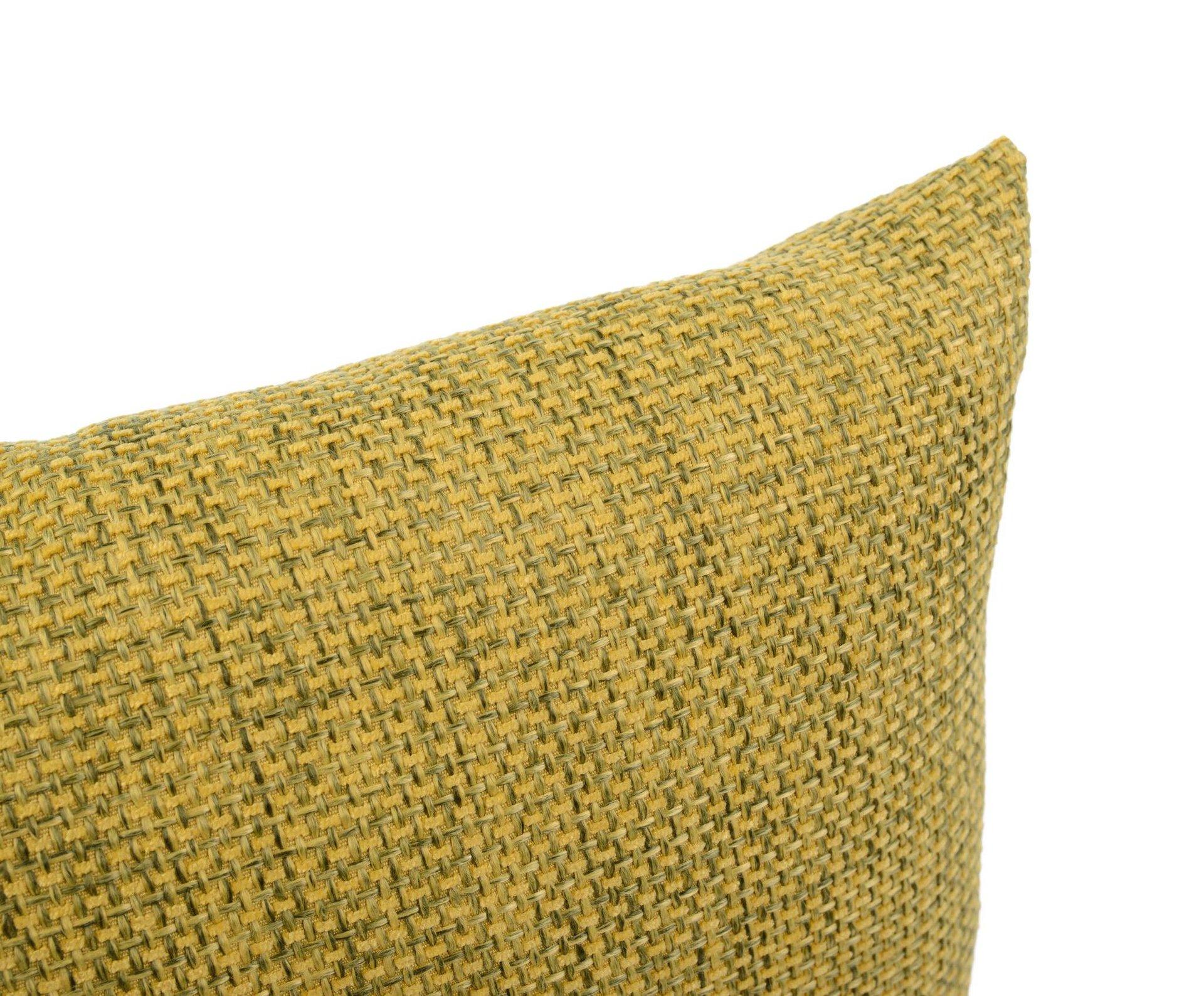Kissenhülle Dallas Ambiente Trendlife Textil grün 50 x 50 cm