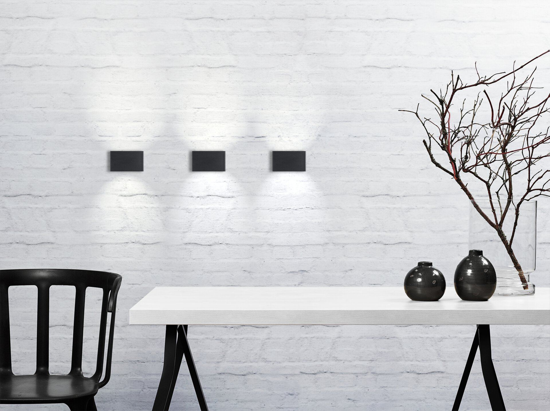 Wand-Aussenleuchte NENE Nordlux Metall 14 x 6 x 9 cm