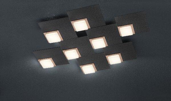Smart-Home-Leuchten Bankamp Metall anthrazit ca. 59 cm x 6 cm x 71 cm