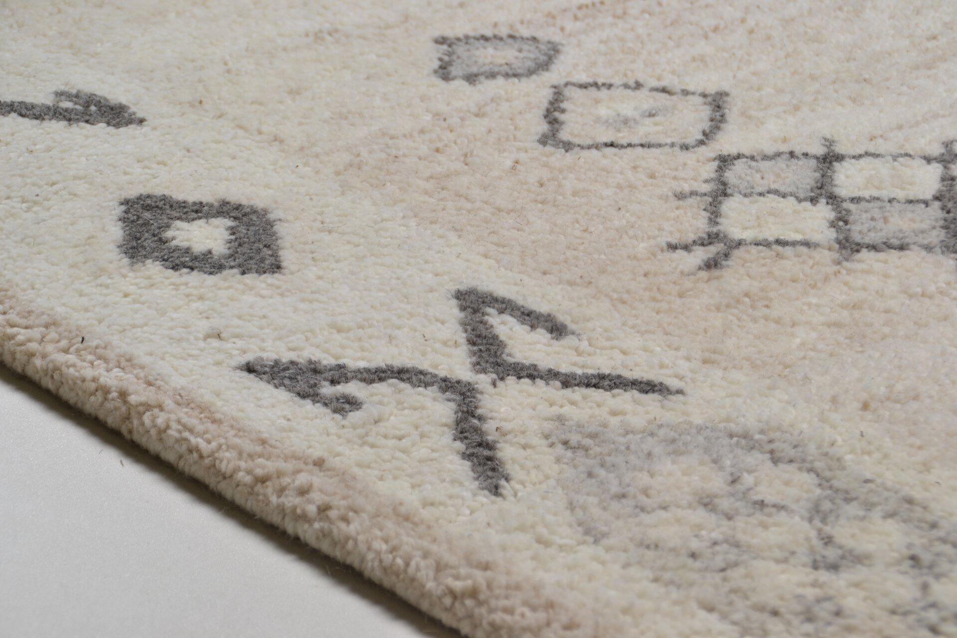 Handtuftteppich Royal Berber Theko Textil braun 1 x 2 cm