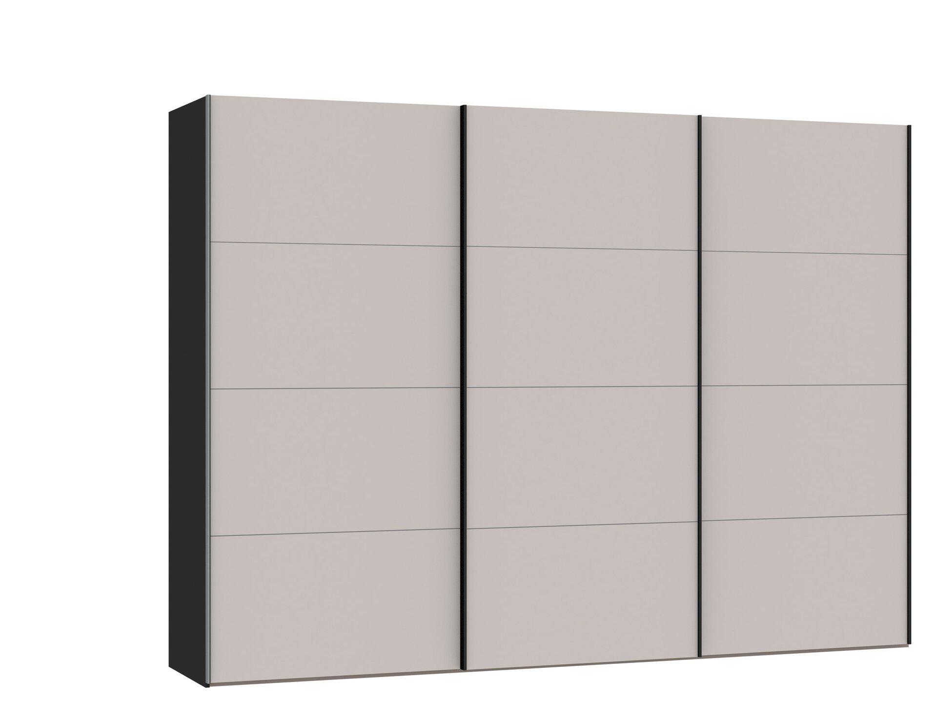 Schwebetürenschrank RIALTO SET ONE set One by Musterring Holzwerkstoff 65 x 220 x 303 cm