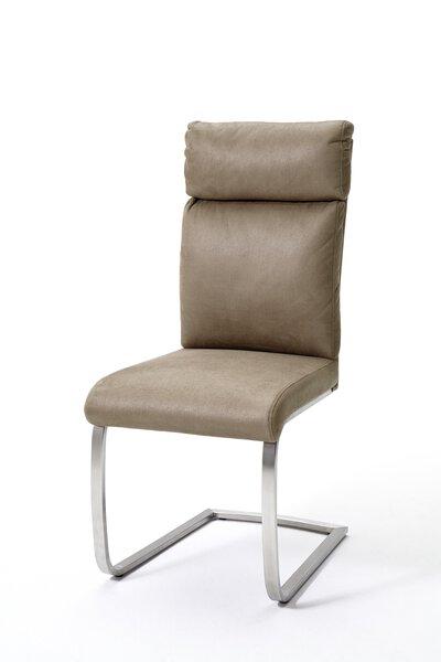 Freischwingerstuhl MCA furniture Metall, Textil Antiklook sand ca. 62 cm x 106 cm x 46 cm