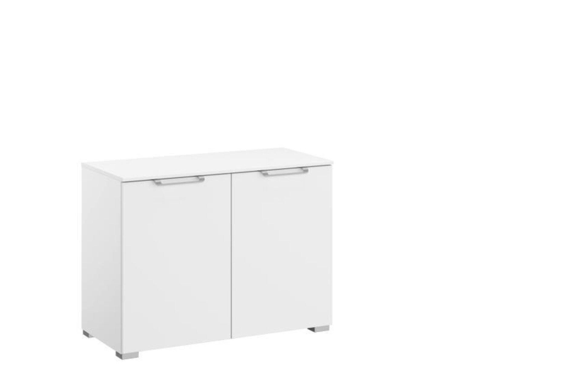 Kommode ALLSTARS Vito Holzwerkstoff weiß 42 x 61 x 80 cm
