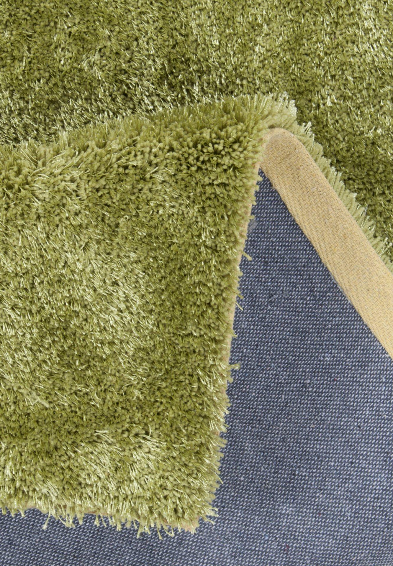 Handtuftteppich Alessandro Gino Falcone Textil grün 50 x 80 cm