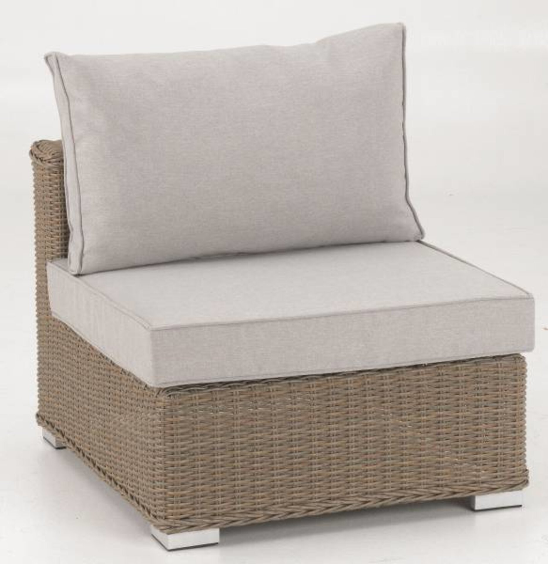 Mittelelement TAHITI Outdoor Textil 74 x 64 x 86 cm