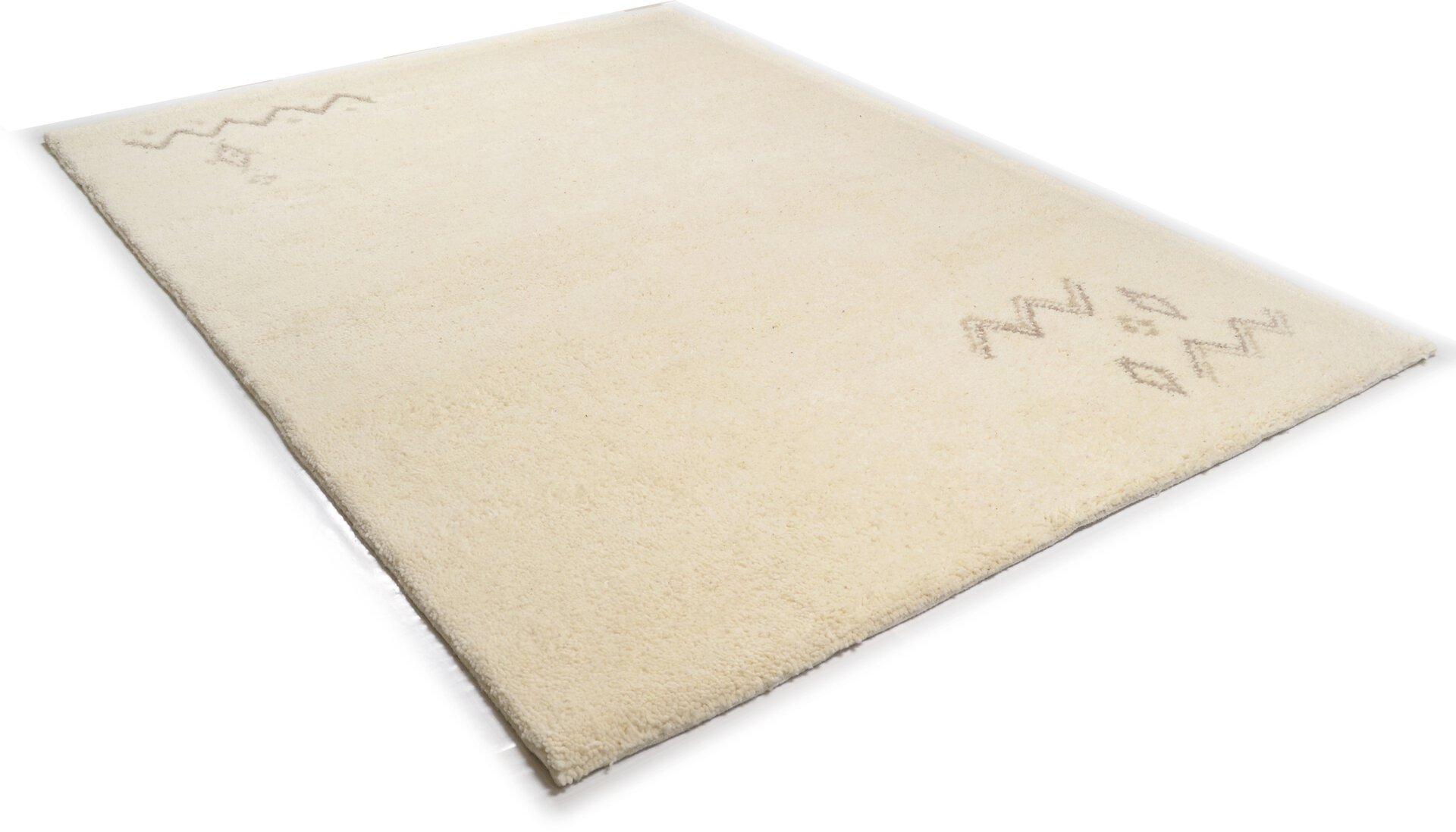 Handknüpfteppich Royal Maroc Theko Textil braun