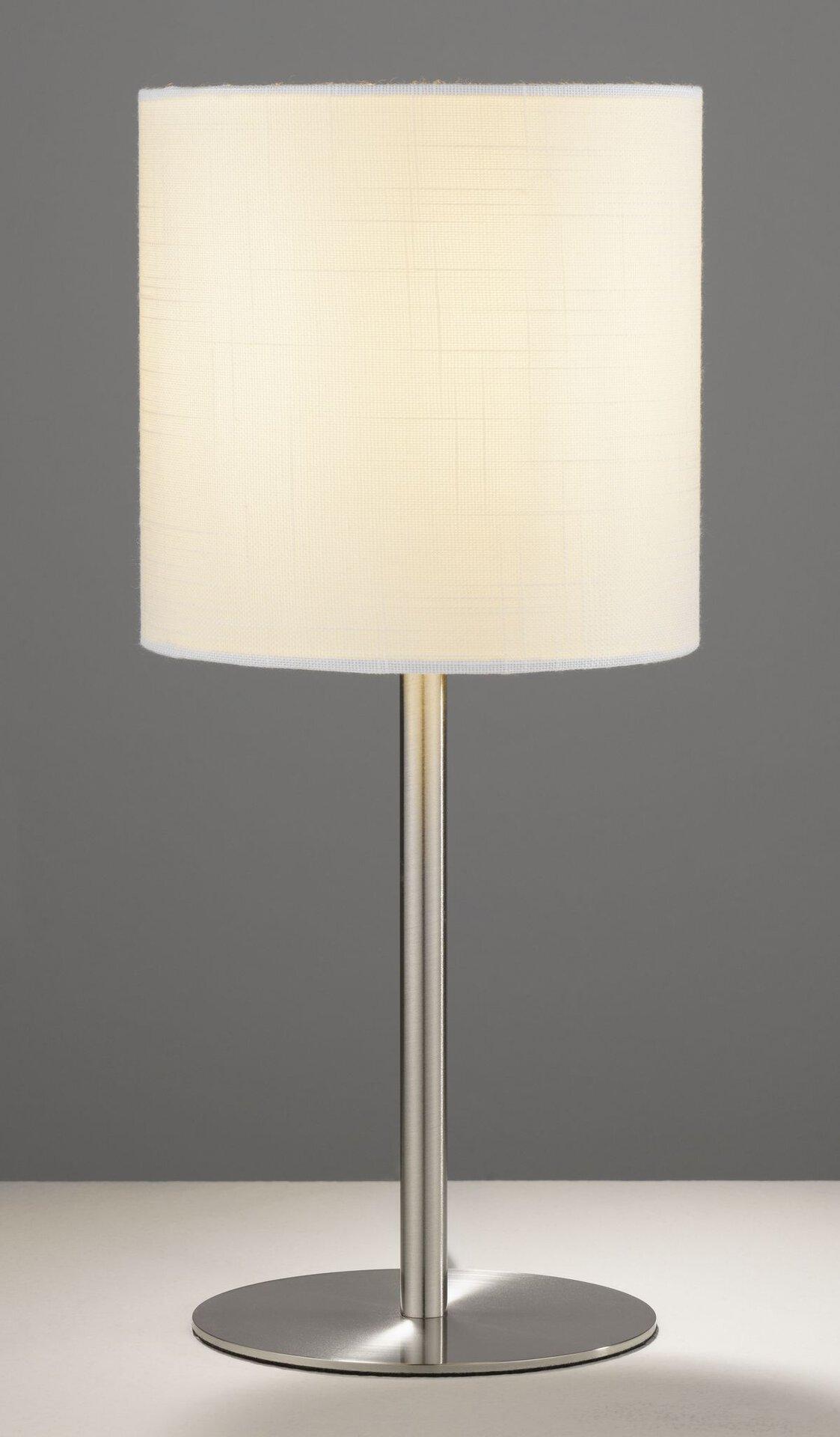Tischleuchte LIA  Homing  Casa Nova Casa Nova Metall silber 18 x 40 x 18 cm