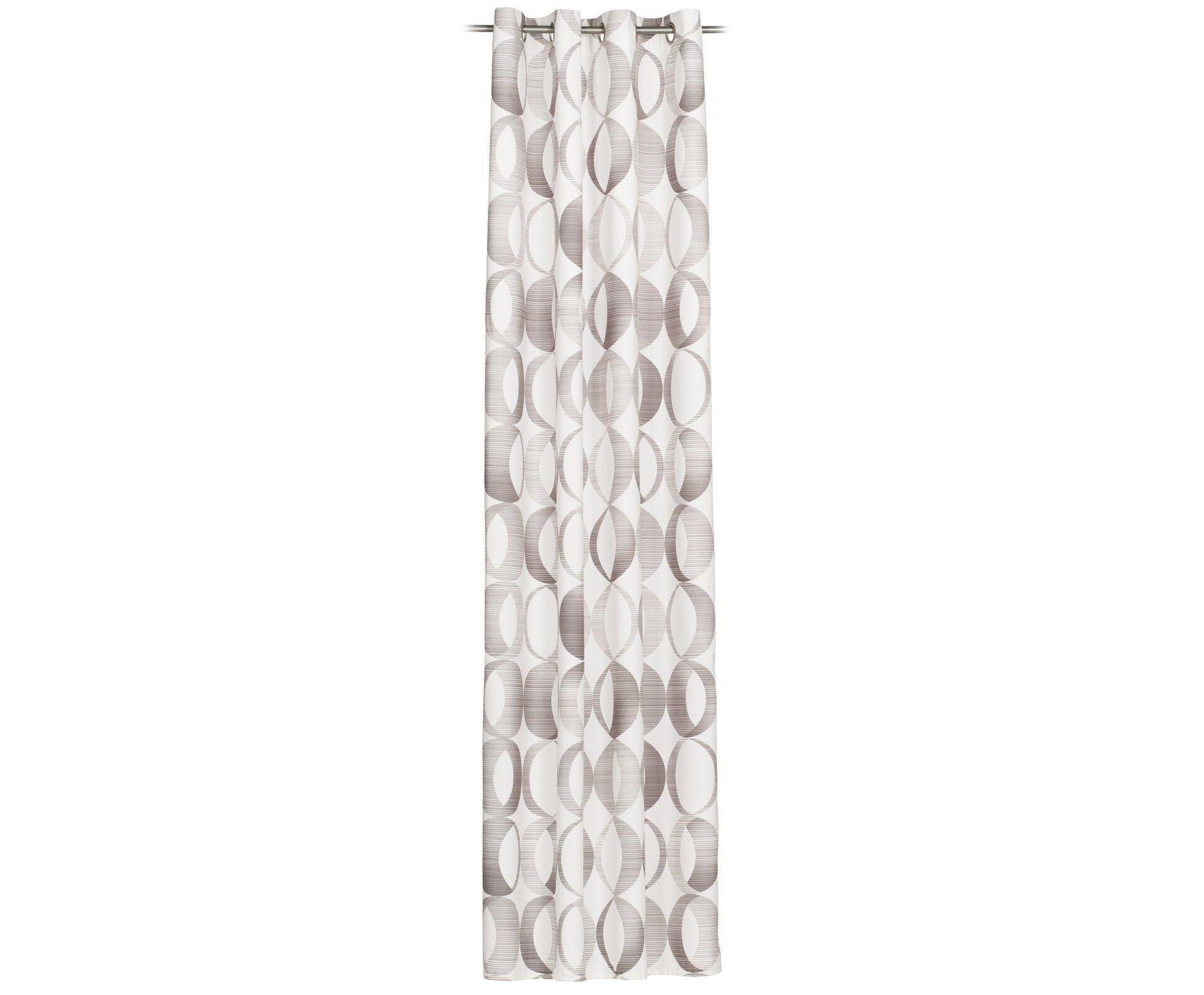Ösenschal Bellino Ambiente Trendlife Textil silber 140 x 255 cm