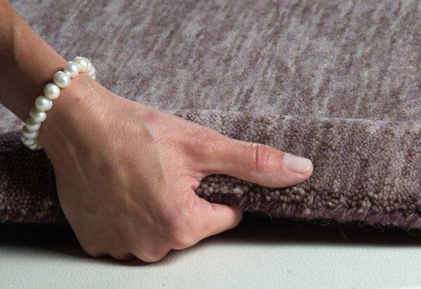 Handwebteppich Theko Textil 500 brown