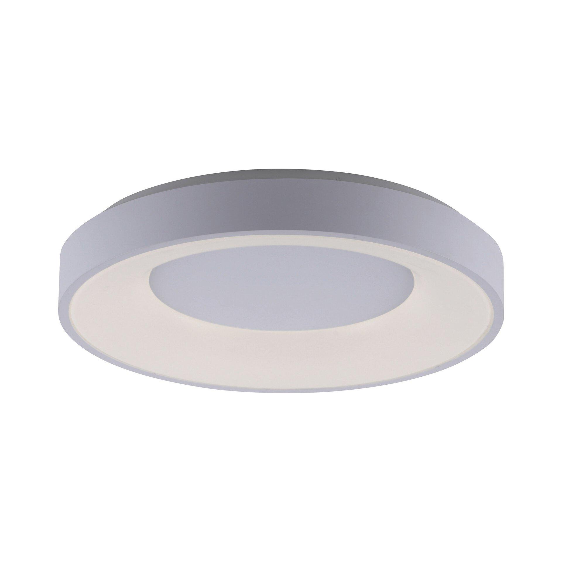 Deckenleuchte ANIKA Leuchtendirekt Metall weiß 50 x 9 x 50 cm