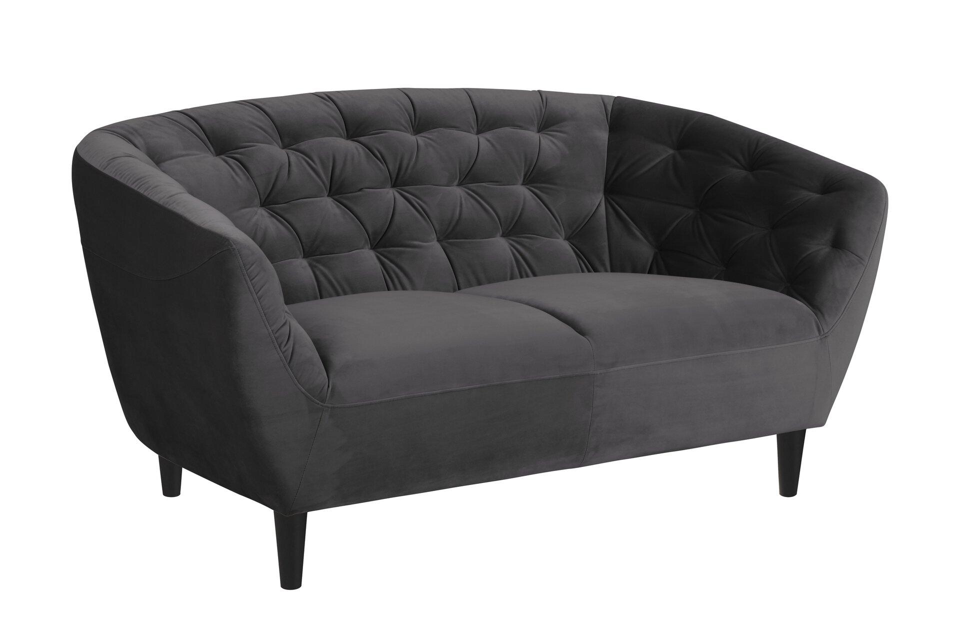 Sofa 3-Sitzer RIA CELECT Textil 84 x 78 x 191 cm