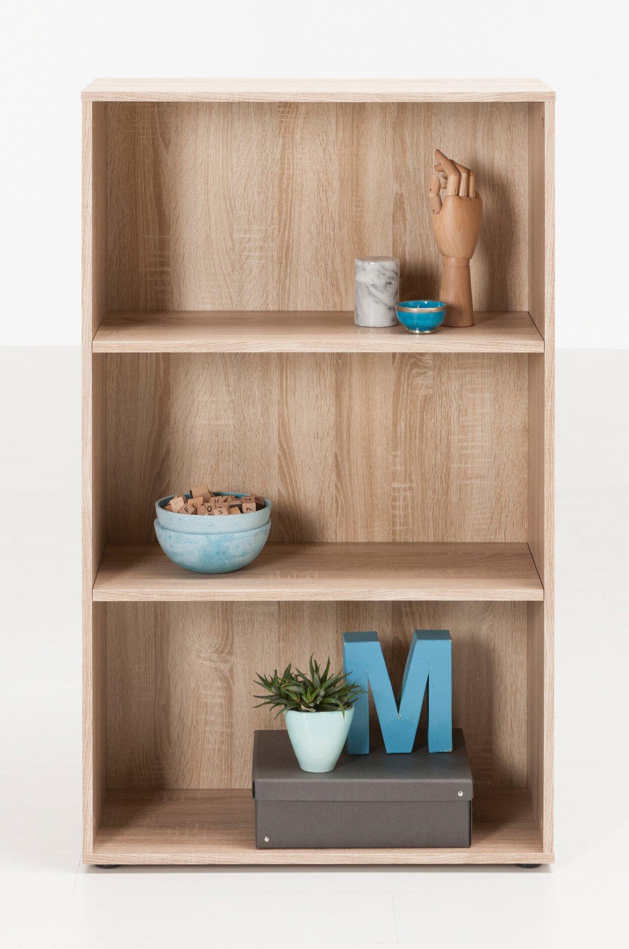 Regal FIONA SELF Holzwerkstoff braun 30 x 117 x 70 cm