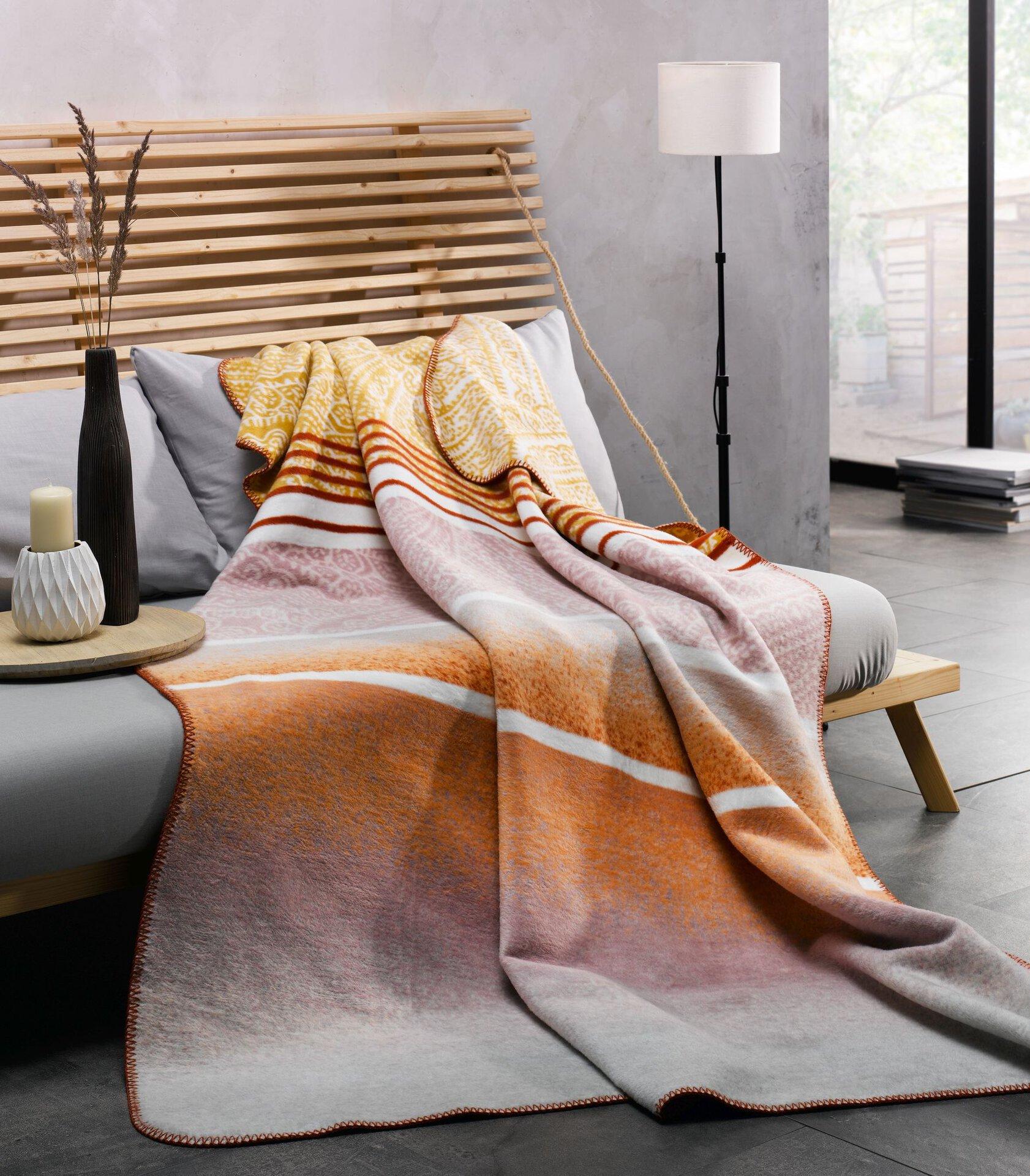 Wohndecke Emil Casa Nova Textil mehrfarbig 130 x 170 cm