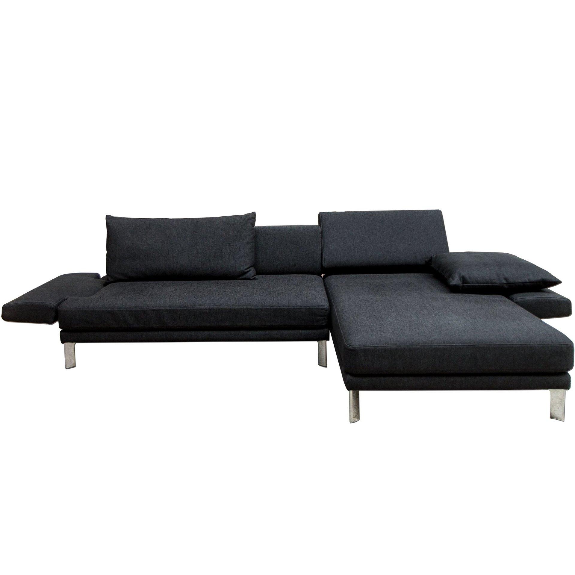 Ecksofa SENTO Rolf Benz Textil 168 x 86 x 263 cm