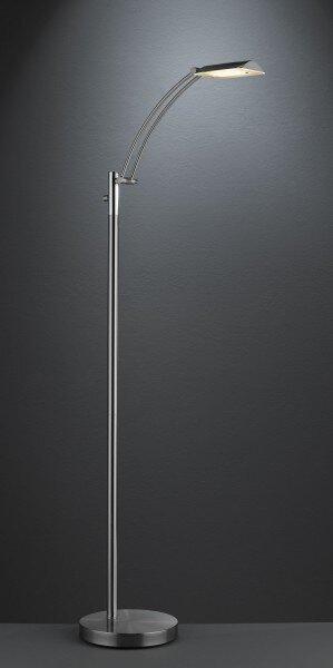 Stehleuchte Wiko Casa Nova Metall nickel ca. 25 cm x 140 cm x 40 cm