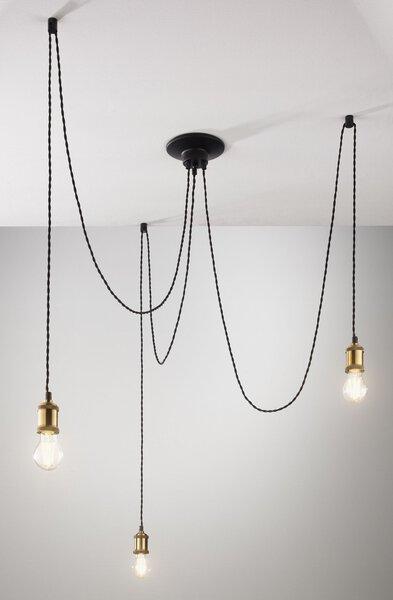 Hängeleuchte Casa Nova Metall messingfrb. ca. 10 cm x 200 cm x 10 cm