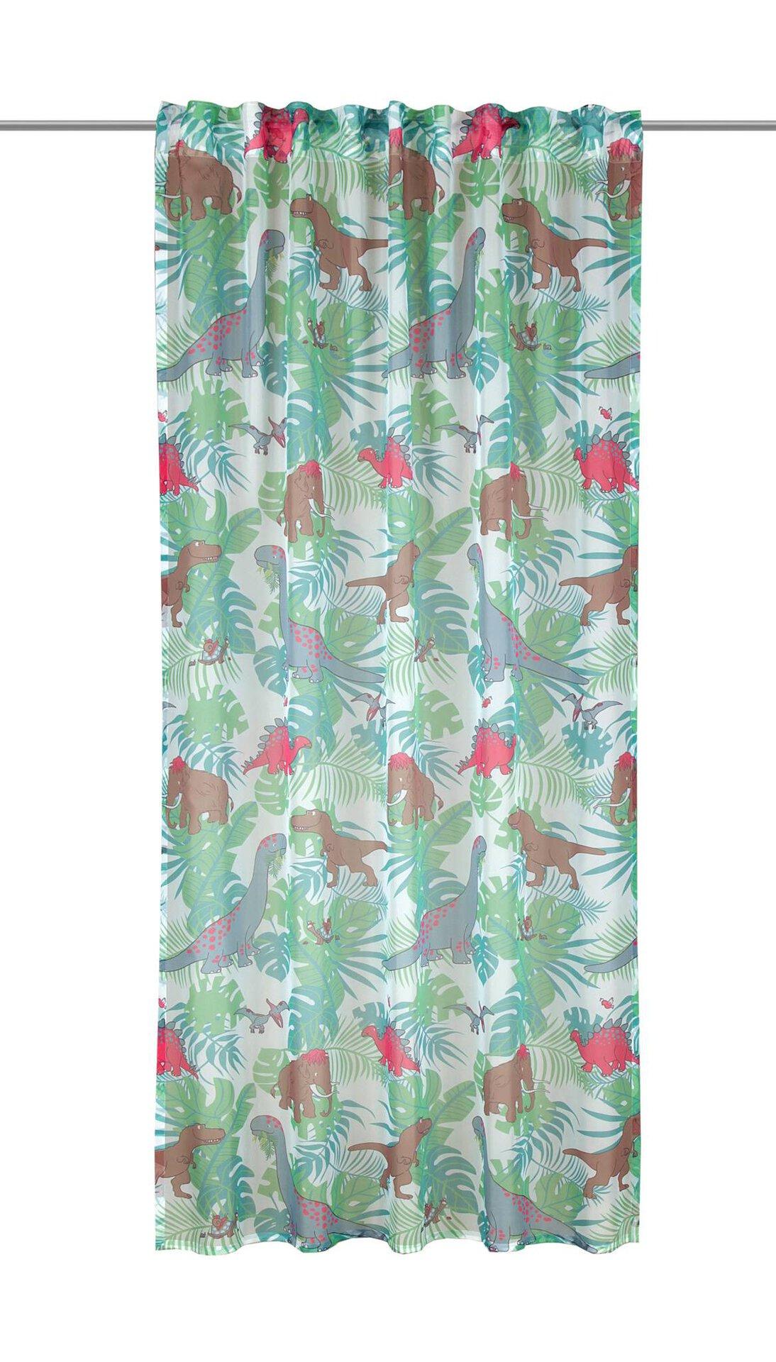 Schlaufenschal Dino Albani Textil grün 135 x 245 cm