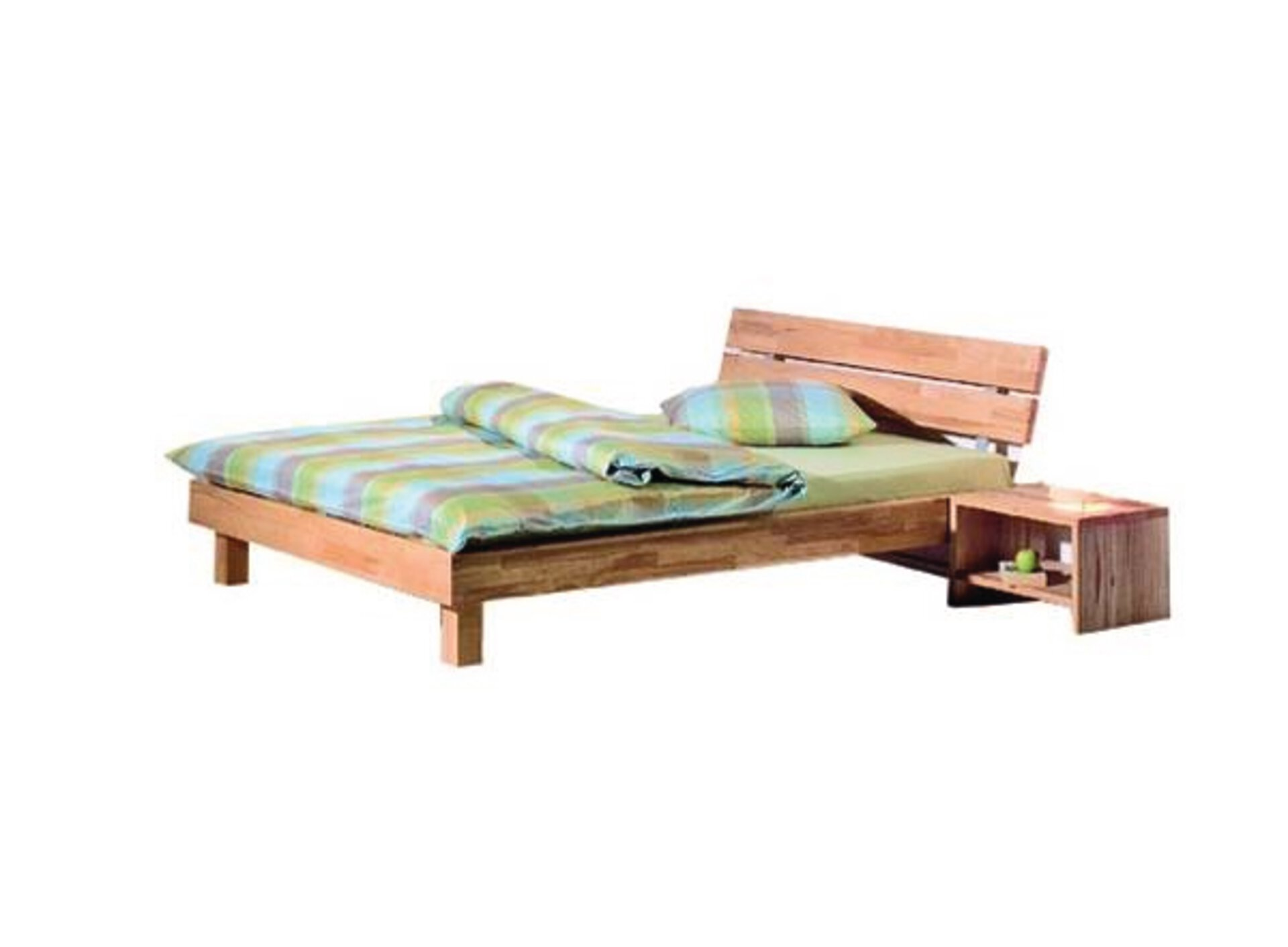 Bett VARESE Modular Holz 200 x 37 x 100 cm
