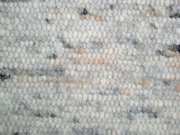 Handwebteppich Paulig Teppiche 137 braun meliert