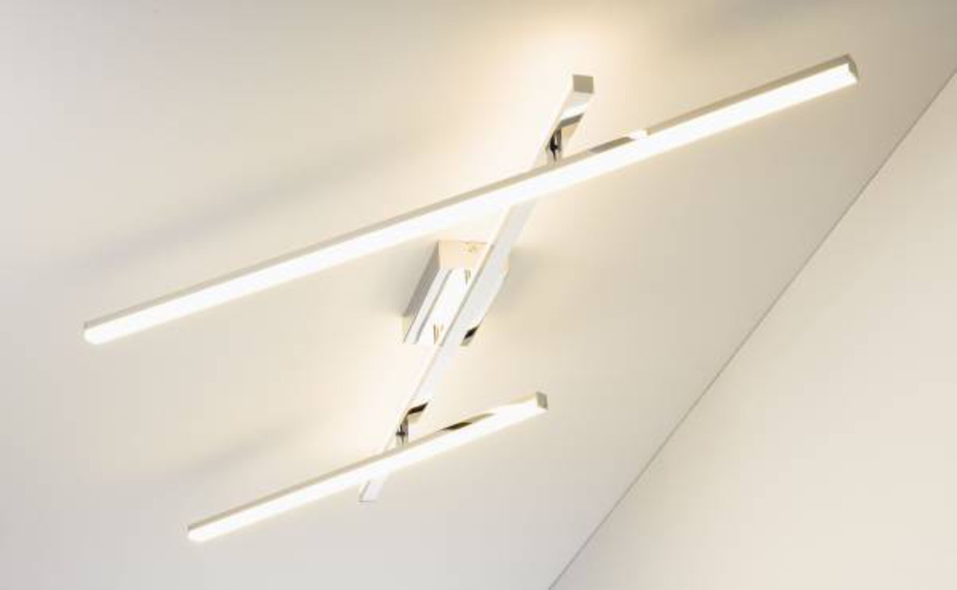 Deckenleuchte Gina Casa Nova Metall silber 169 x 8 x 11 cm