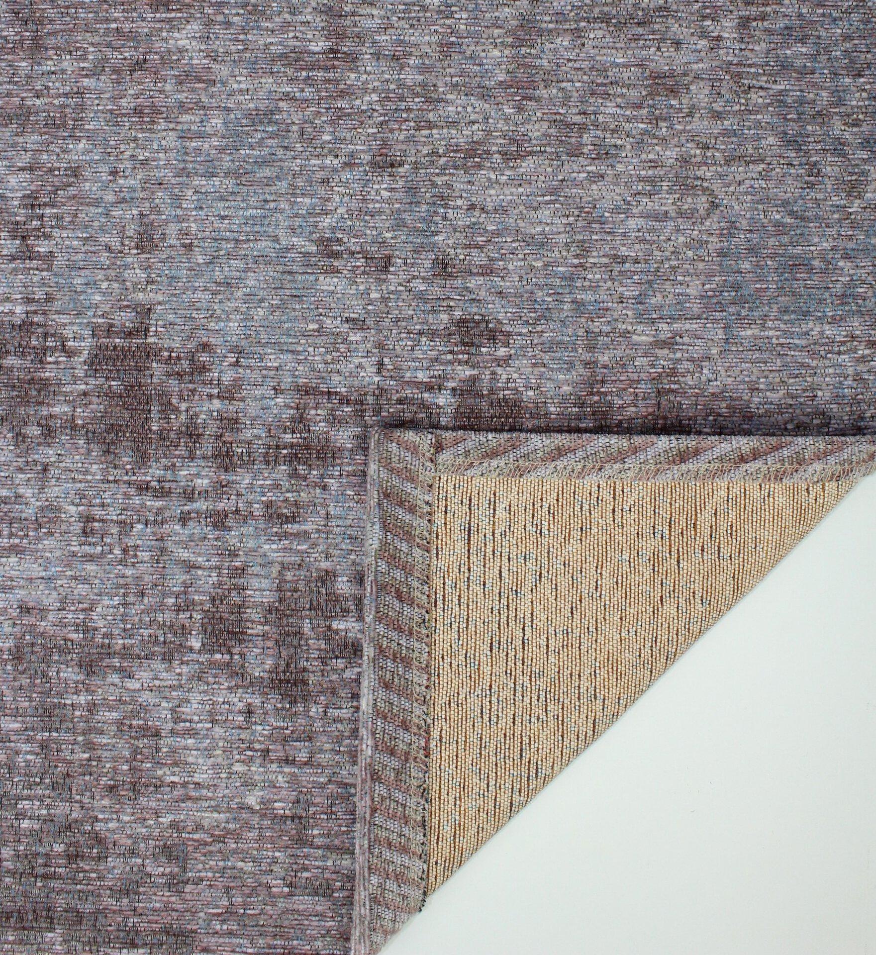 Maschinenwebteppich Saragoza DEKOWE Textil lila 68 x 120 cm