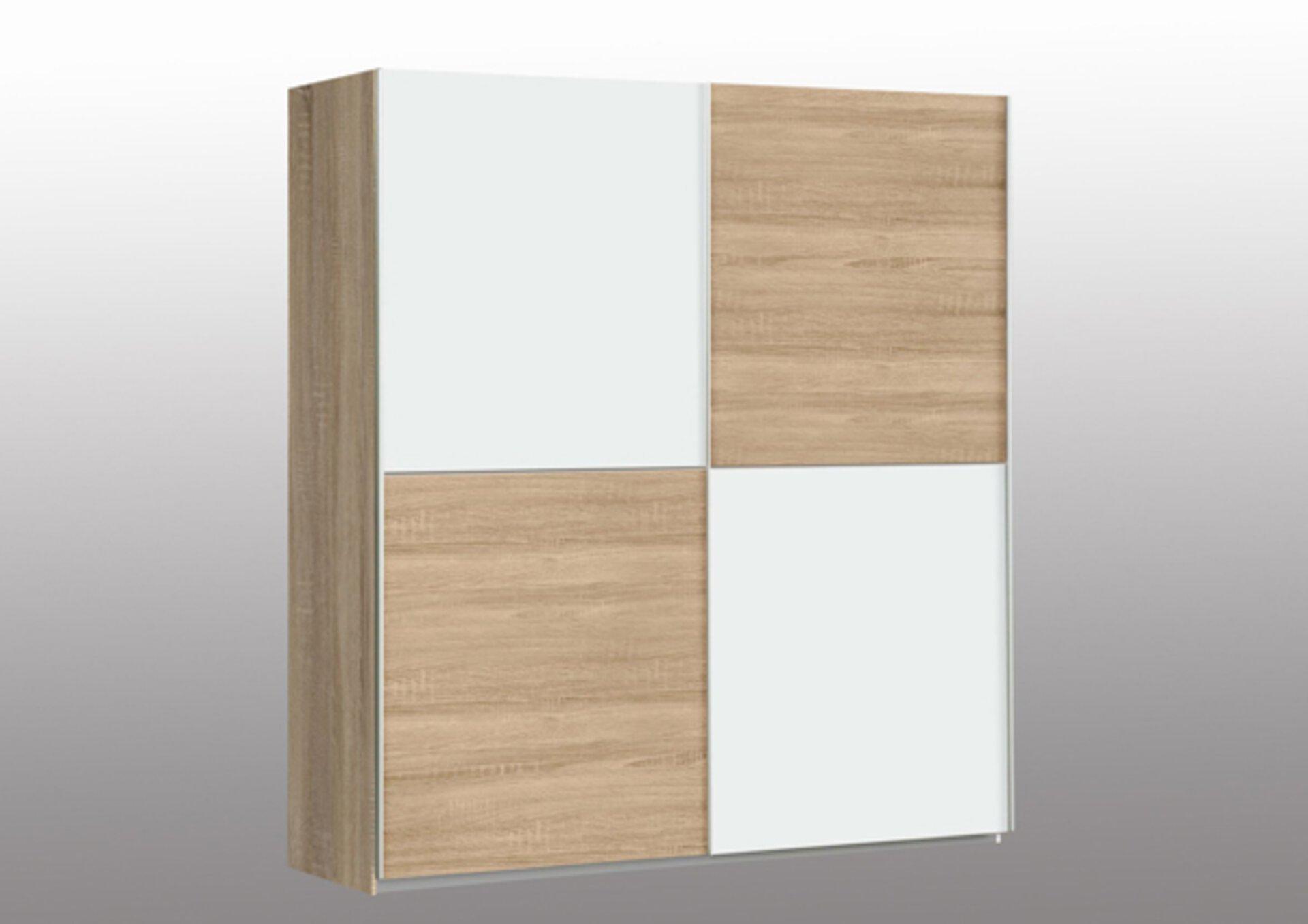 Schwebetürenschrank Dallas DLSS822X1 Dreamoro Holzwerkstoff 61 x 191 x 171 cm
