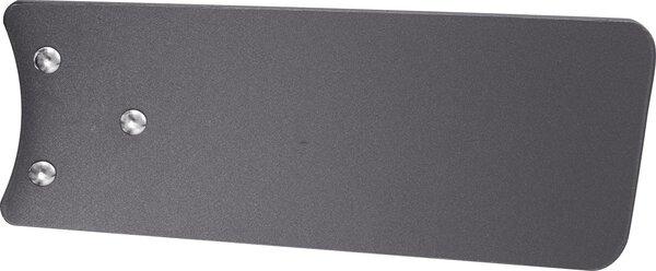 Deckenventilator Globo Metall nickel,weiß,graphit ca. 76 cm x 41 cm x 76 cm