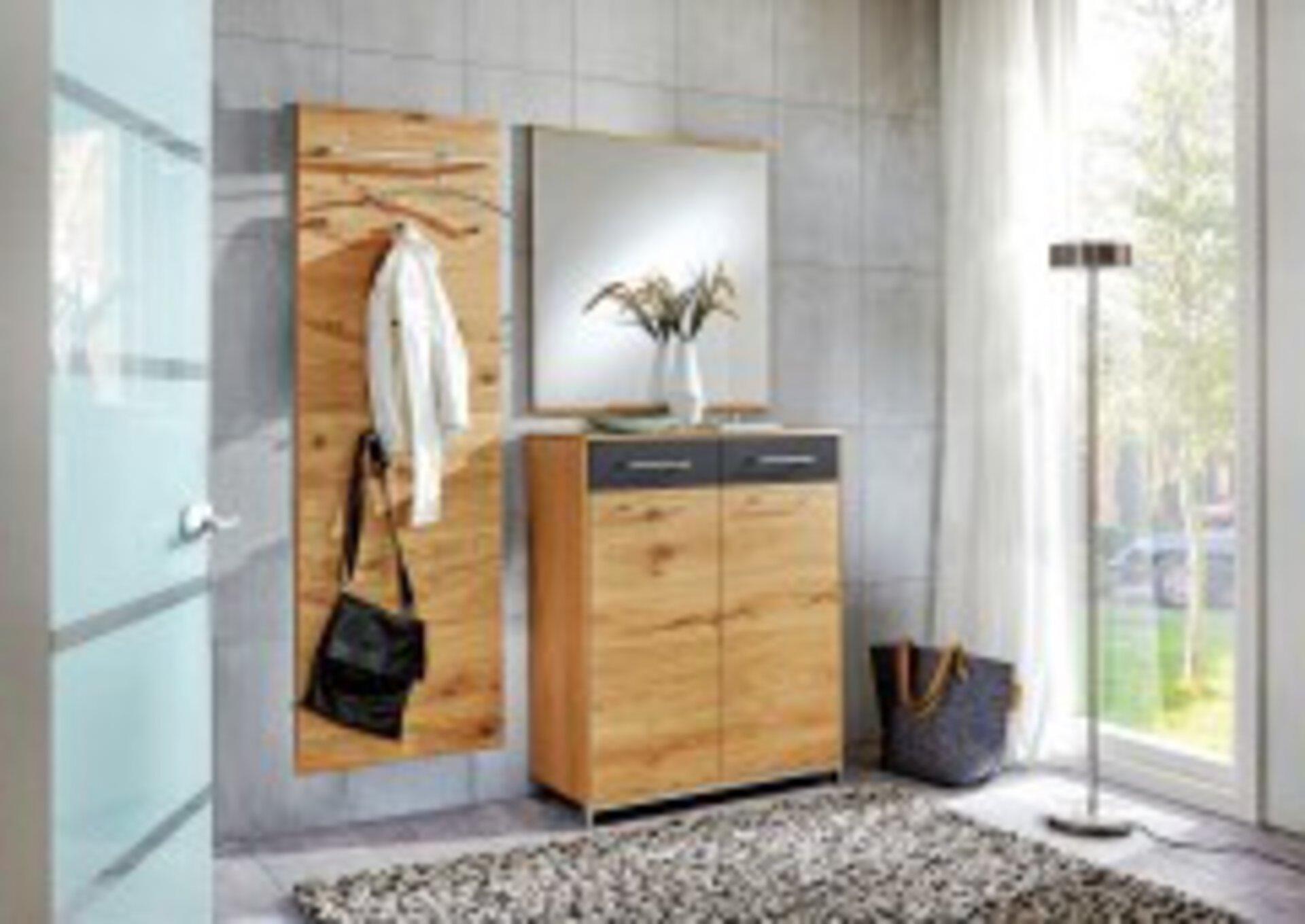 Garderobenpaneel VEDO Voss Möbel Holz 10 x 170 x 60 cm