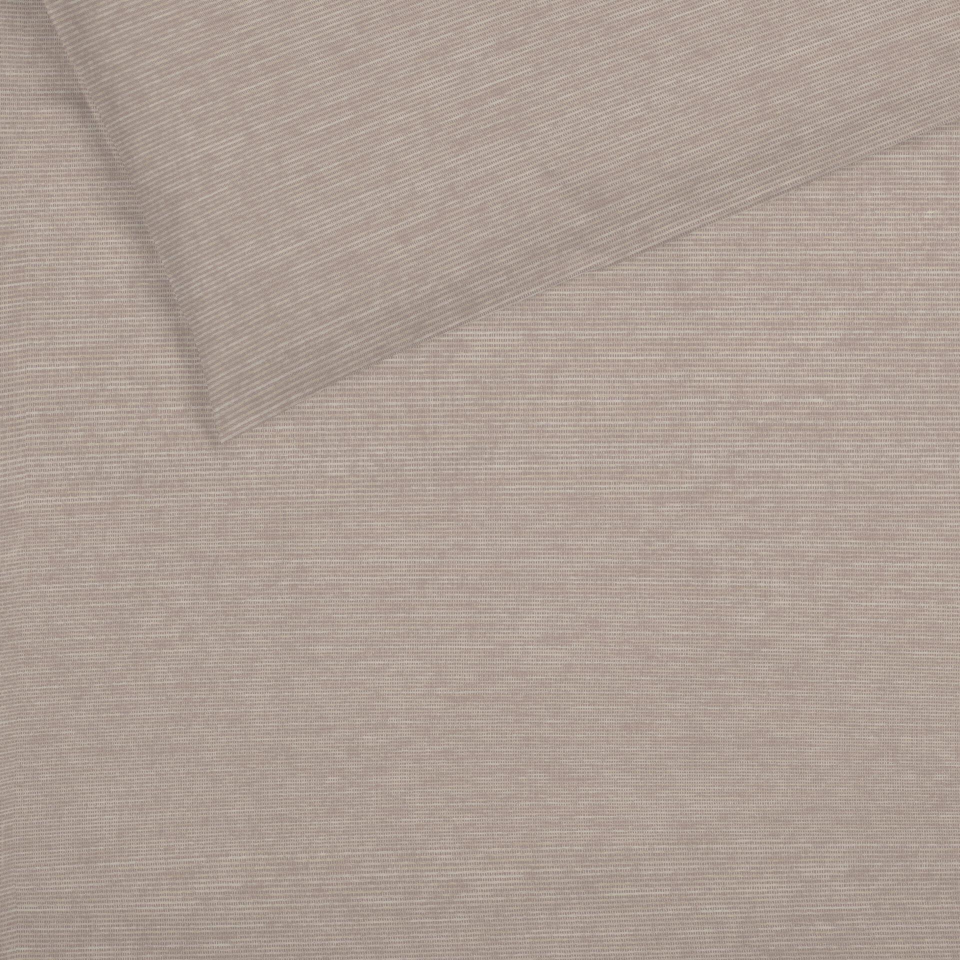 Satin-Bettwäsche Select Schlafgut Textil braun 155 x 220 cm