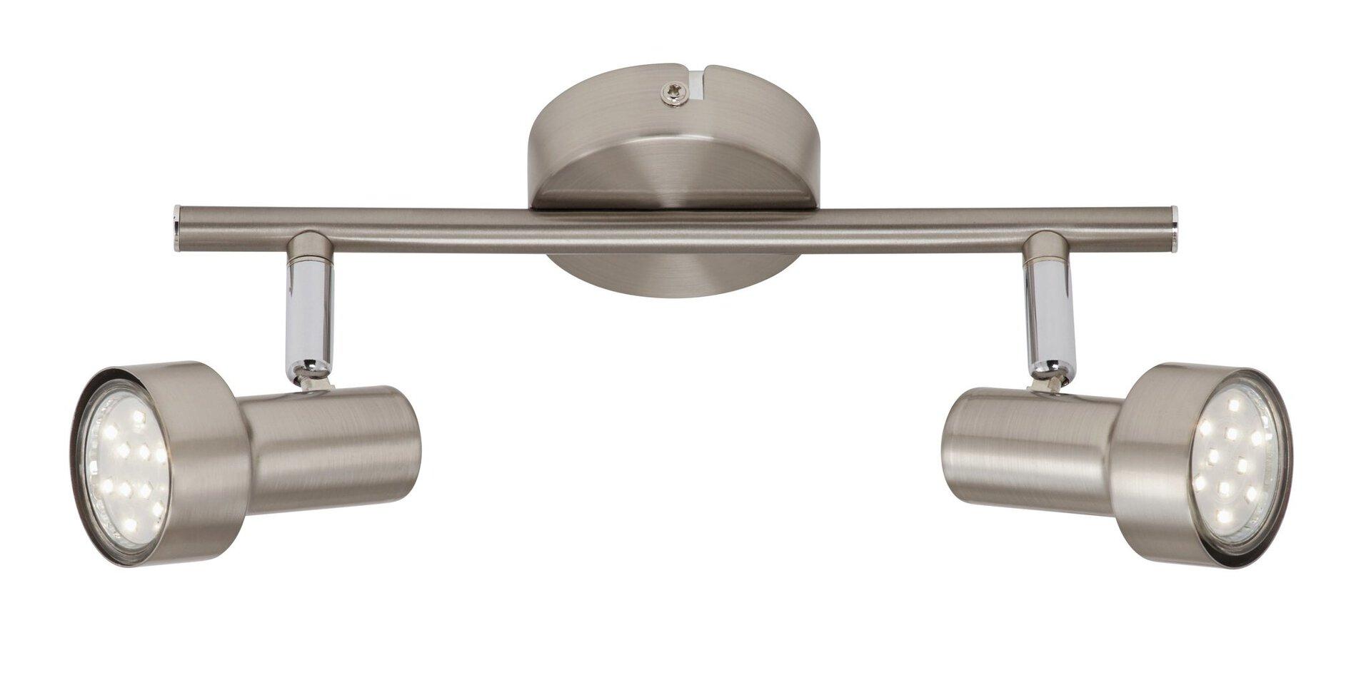 Strahler Sub Briloner Metall silber 8 x 12 x 28 cm
