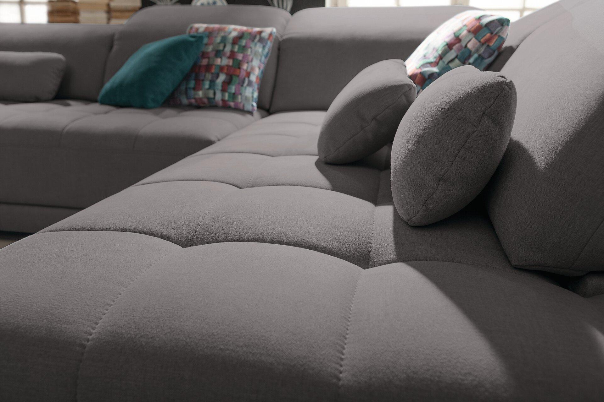 Ecksofa SO3200 set One by Musterring Textil grau 233 x 92 x 298 cm
