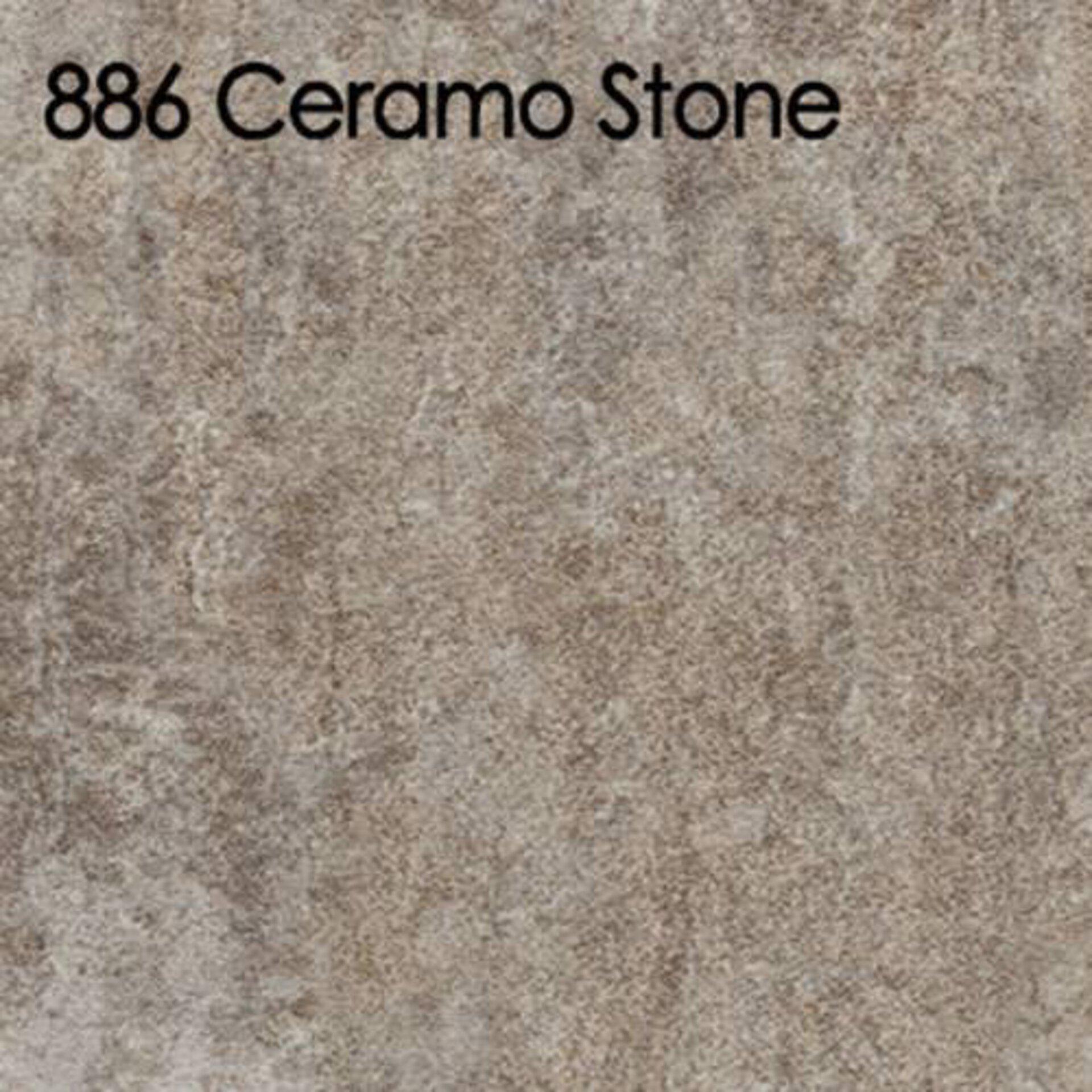 Arbeitsplatte aus Laminat in der cremigen Steinoptik Ceramo Stone