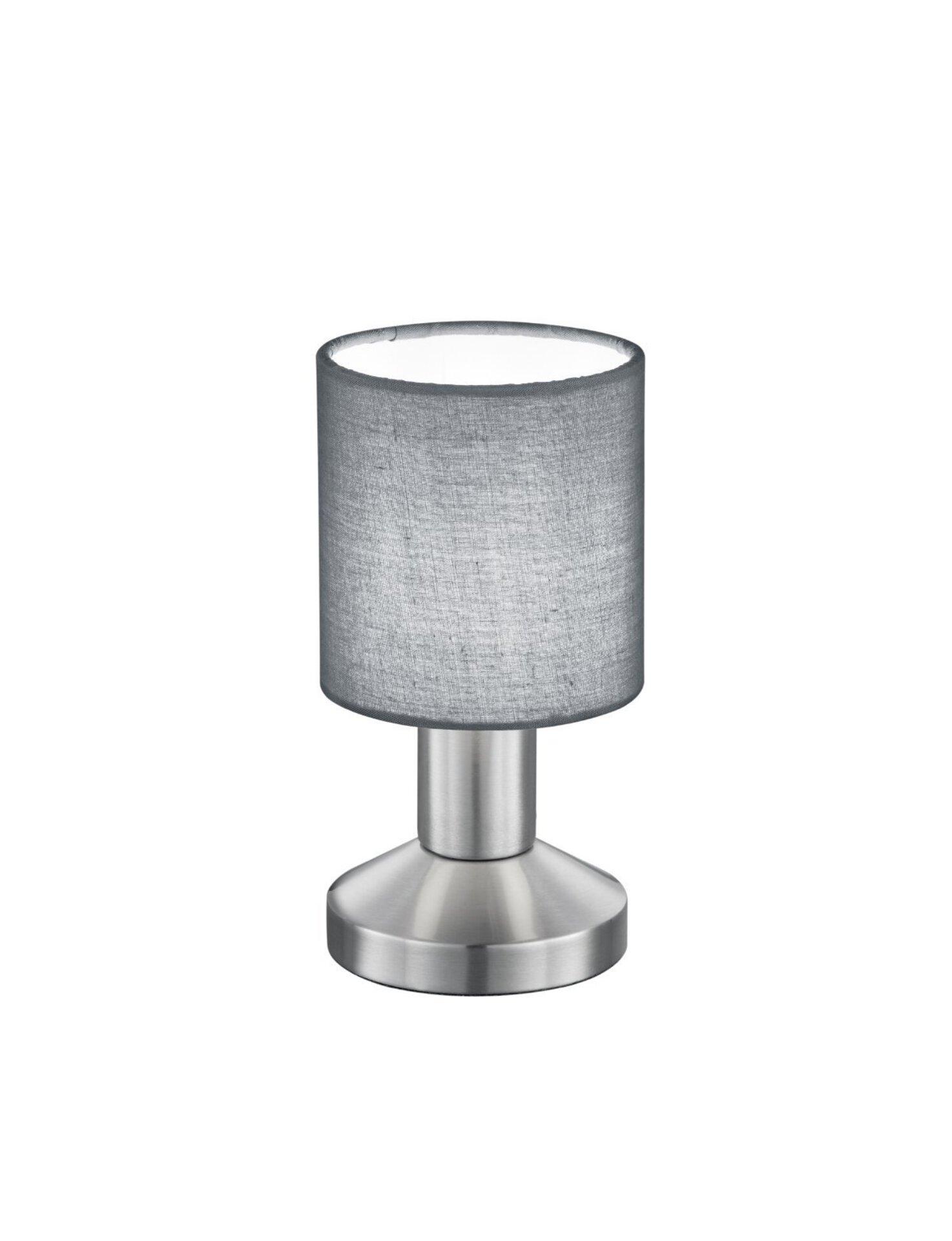 Tischleuchte Garda Trio Leuchten Metall silber 10 x 16 x 10 cm