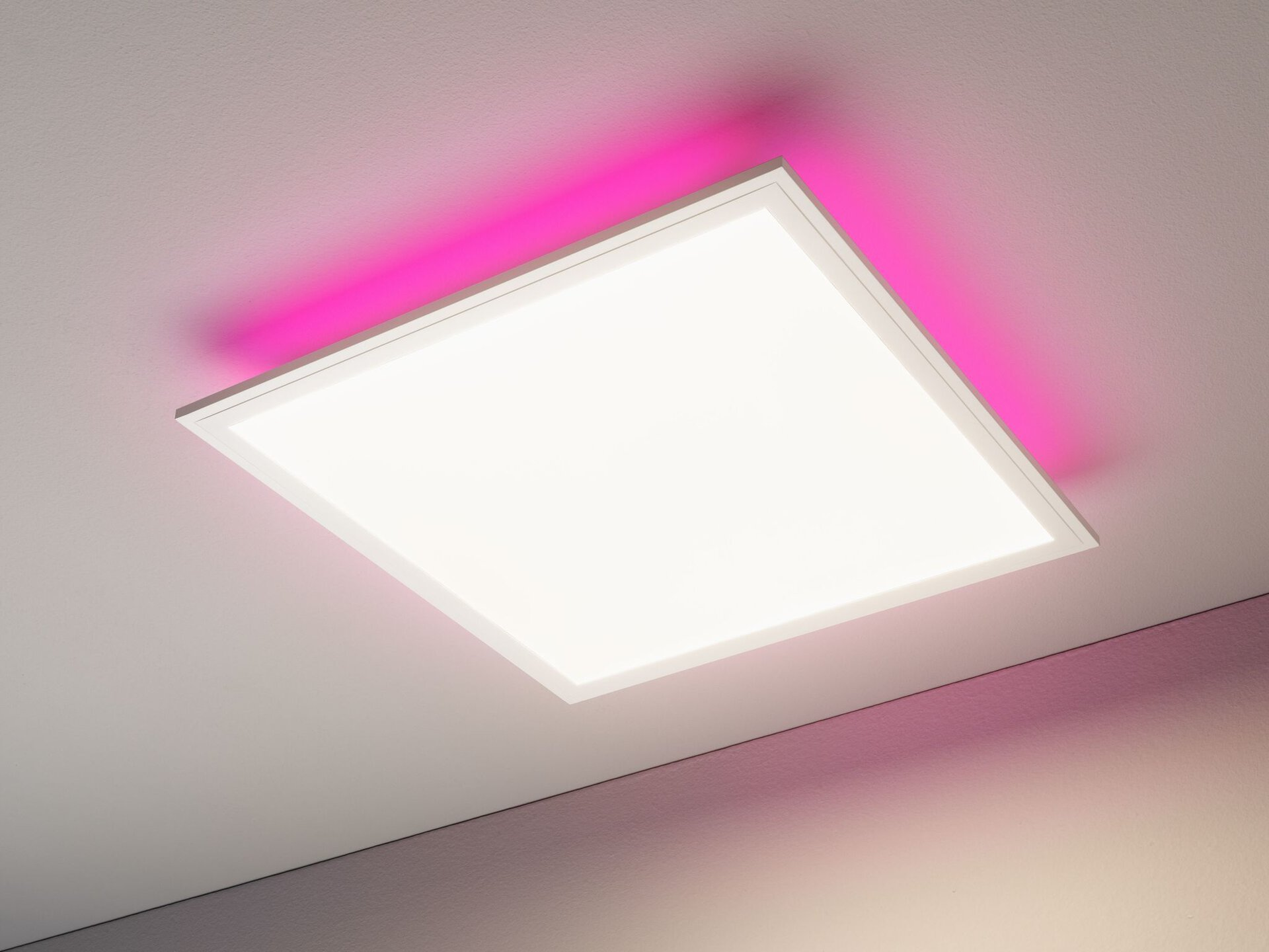 Deckenleuchte Colores + Casa Nova Metall weiß 45 x 5 x 45 cm