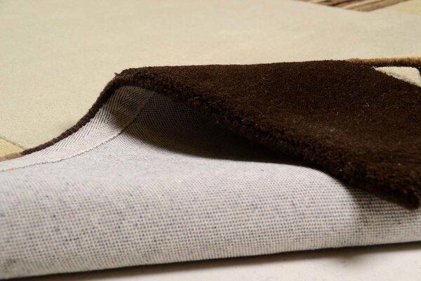 Handtuftteppich Florida Theko Textil 500 brown