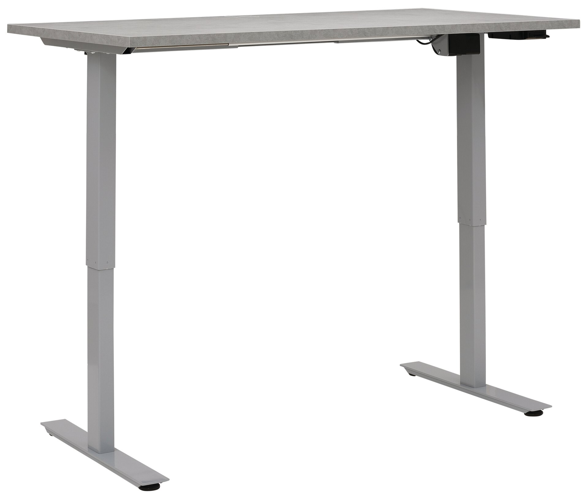 Schreibtisch Maja Möbel Metall grau 1 x 1 x 2 cm