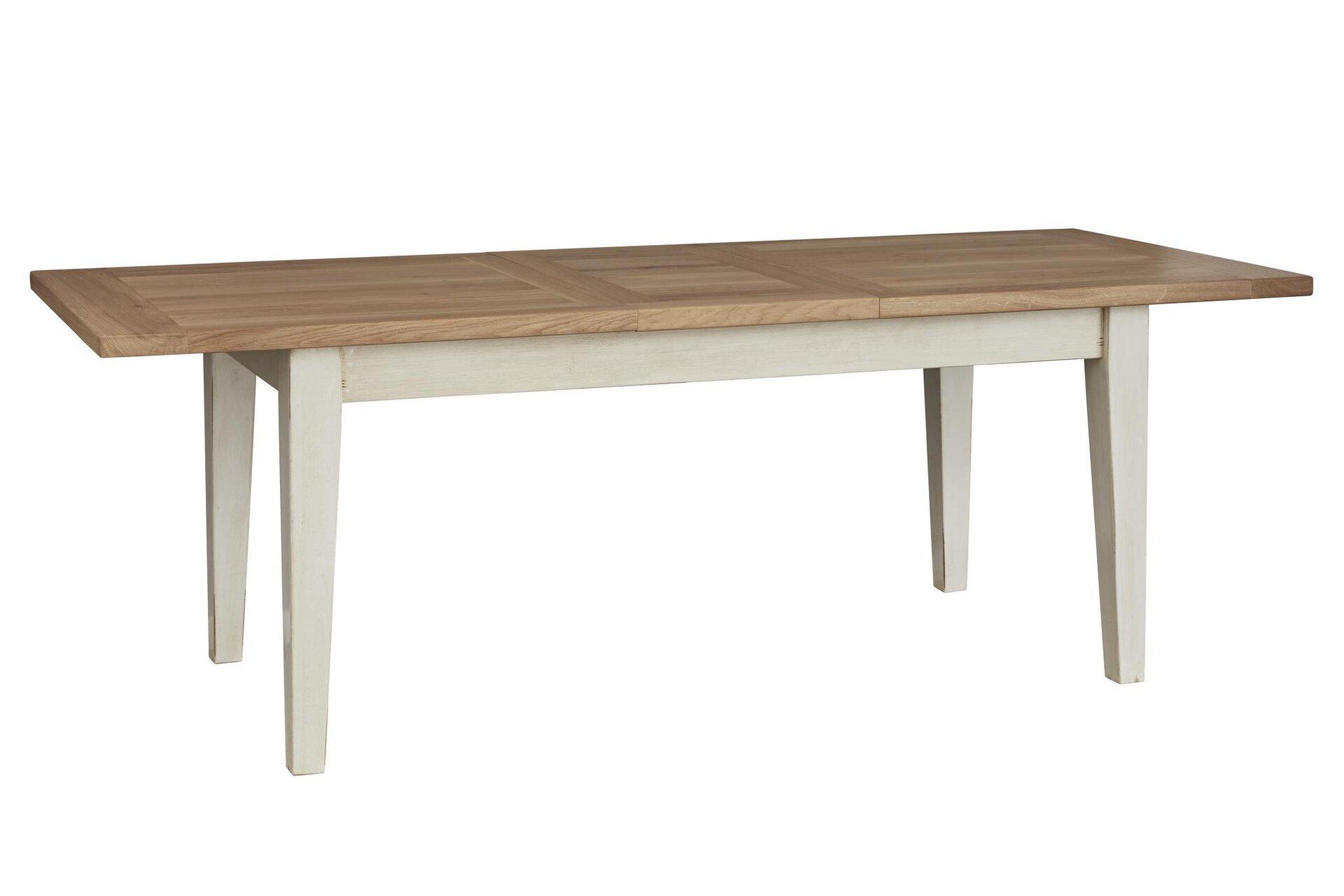 Tisch mit Auszug SAYA MONDO Holzwerkstoff mehrfarbig 90 x 76 x 180 cm