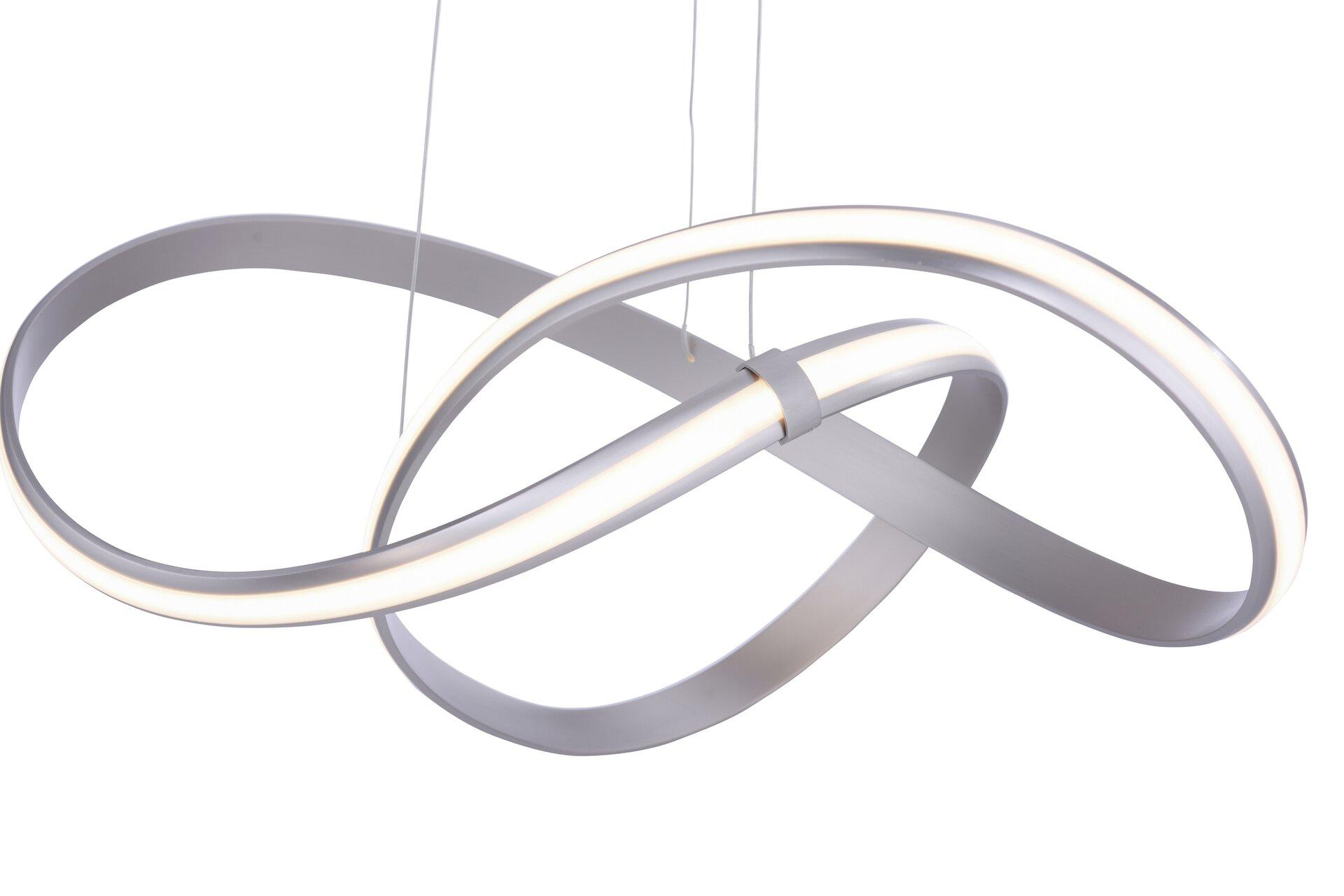 Hängeleuchte MELINDA Paul Neuhaus Metall silber 57 x 120 x 57 cm