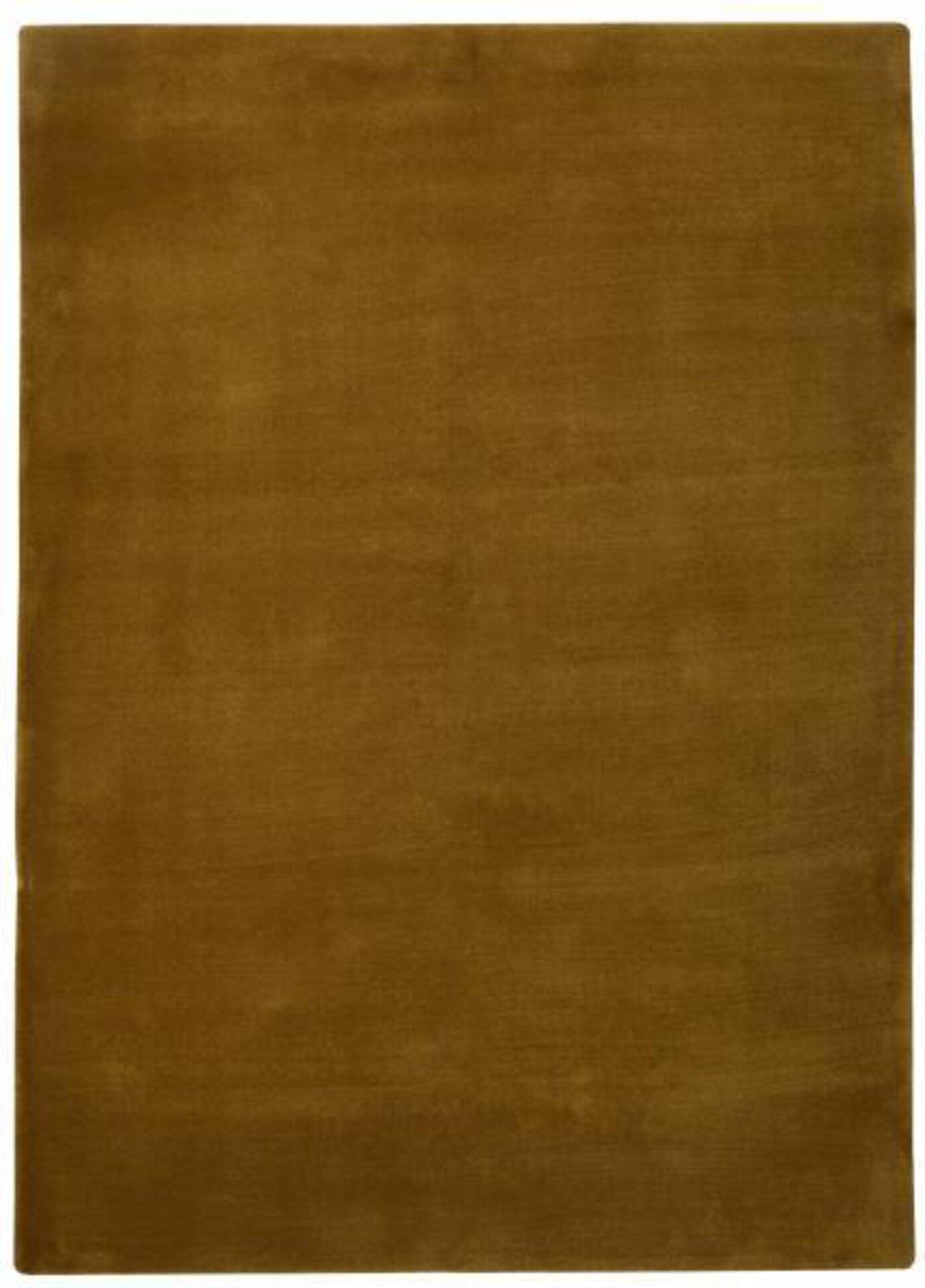 Maschinenwebteppich Mintera MONDO Textil gold 1 x 2 cm