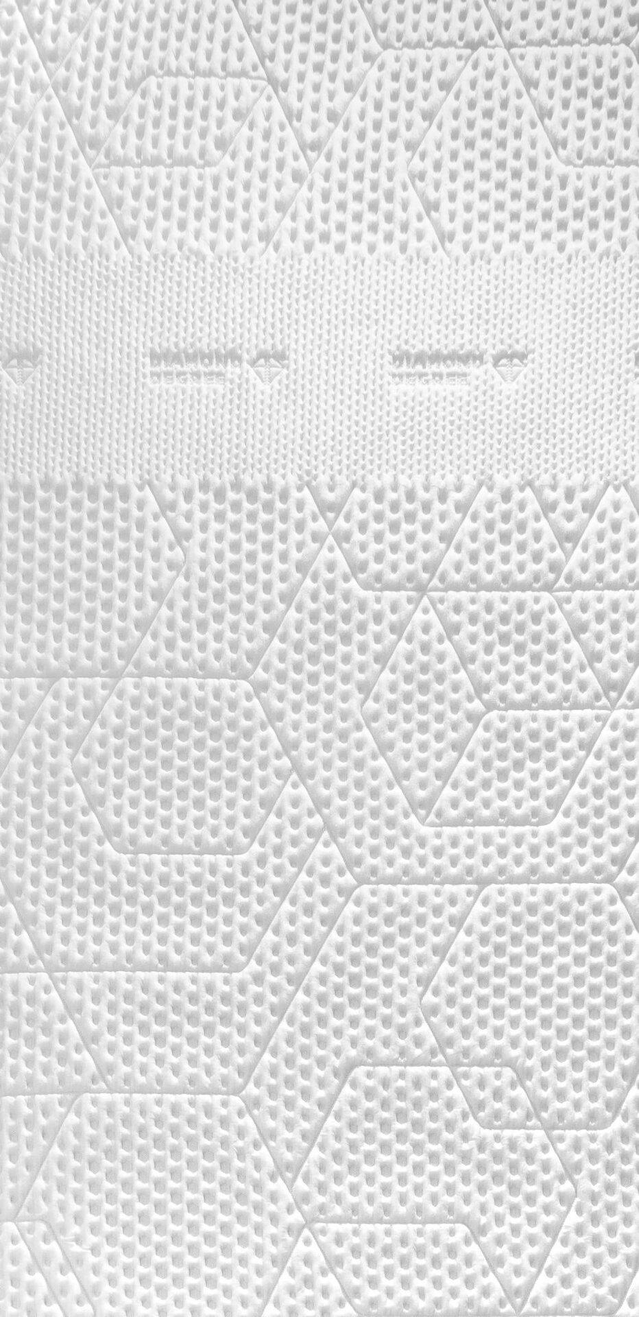 Topper Diamond Degree Topper Dunlopillo Textil weiß 180 x 8 x 200 cm