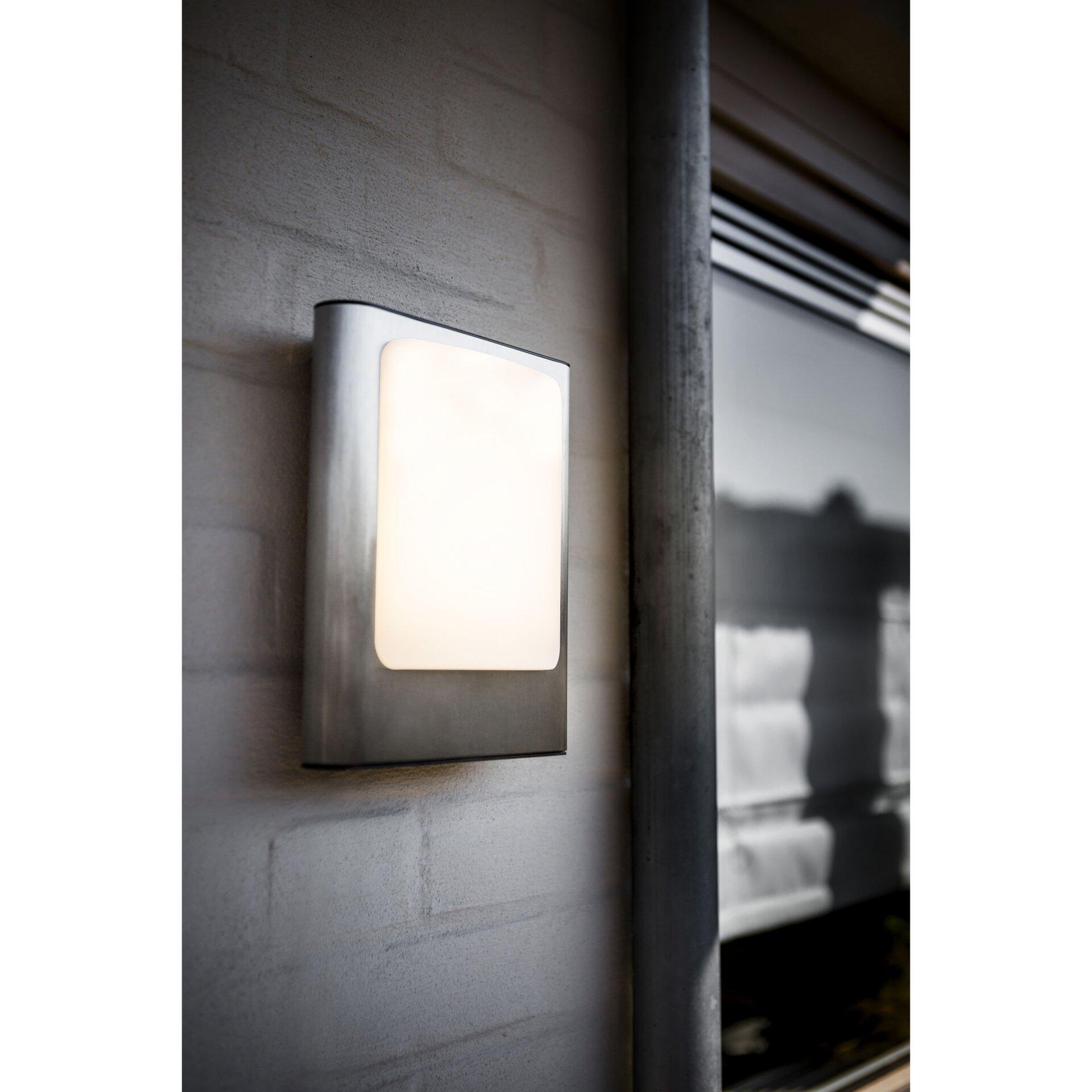 Wand-Aussenleuchte Face Eco-Light Metall 19 x 24 x 7 cm