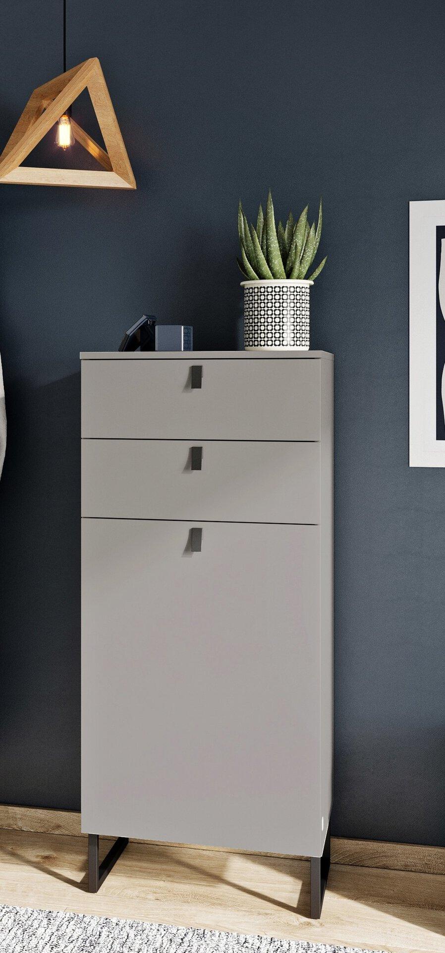 Schuhschrank Hallway 6008 3993-186 Vito Holzwerkstoff grau 1 x 1 x
