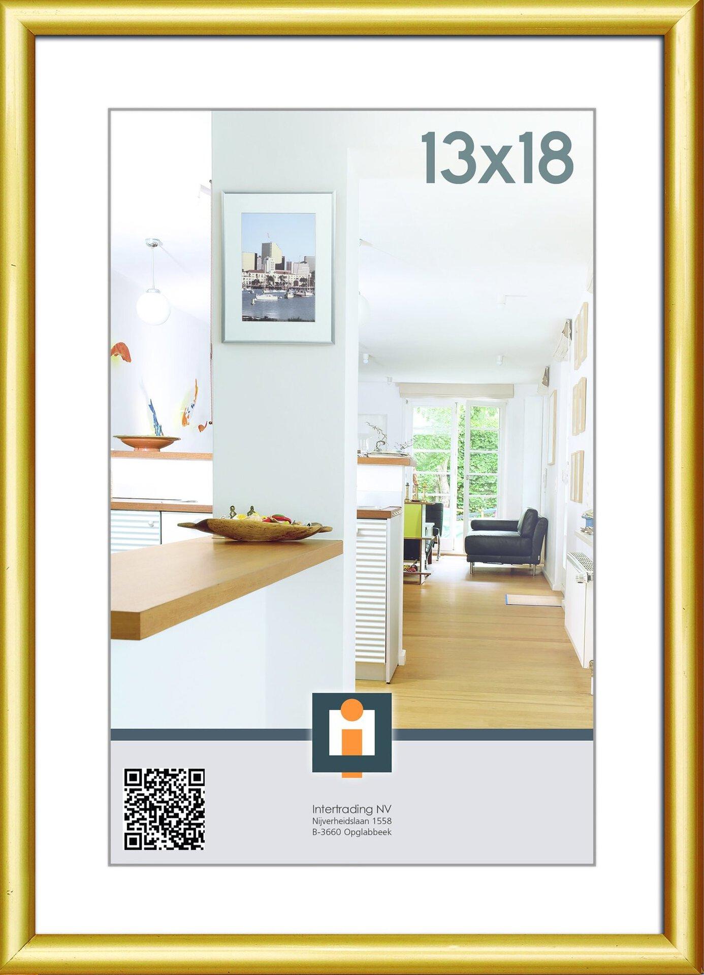 Bilderrahmen KIEL INTERTRADING Kunststoff 14 x 19 x 1 cm