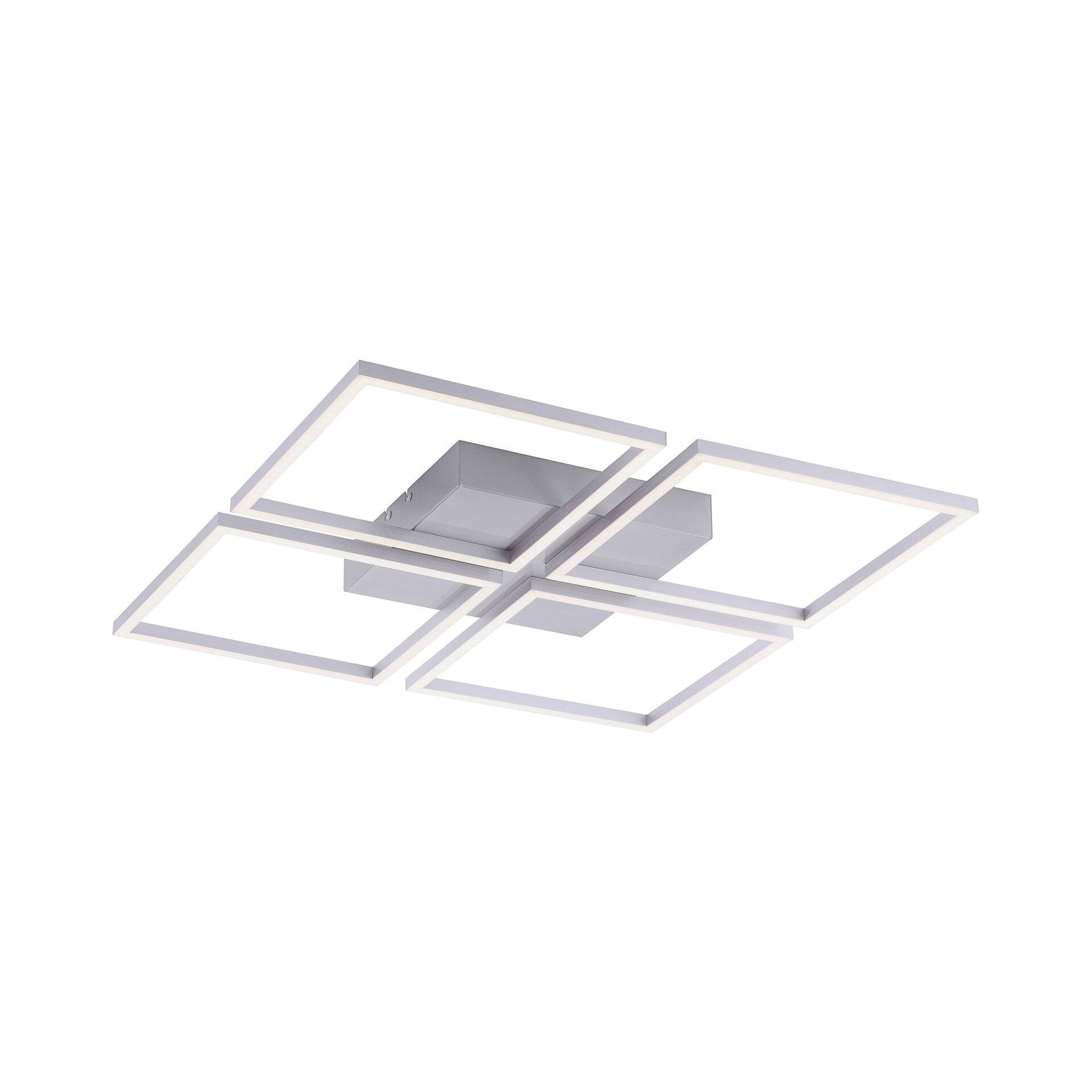 Deckenleuchte INIGO Paul Neuhaus Metall 53 x 5 x 53 cm
