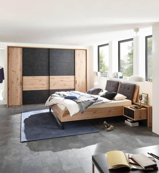 Schlafzimmer Vito Holzwerkstoff Artisan Eiche Dekor
